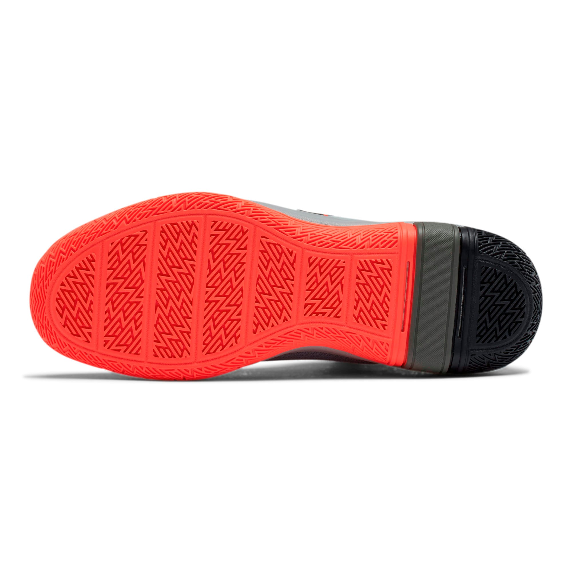 Thumbnail 4 of Legacy Disrupt Basketball Shoes, Puma Black-Red Blast, medium