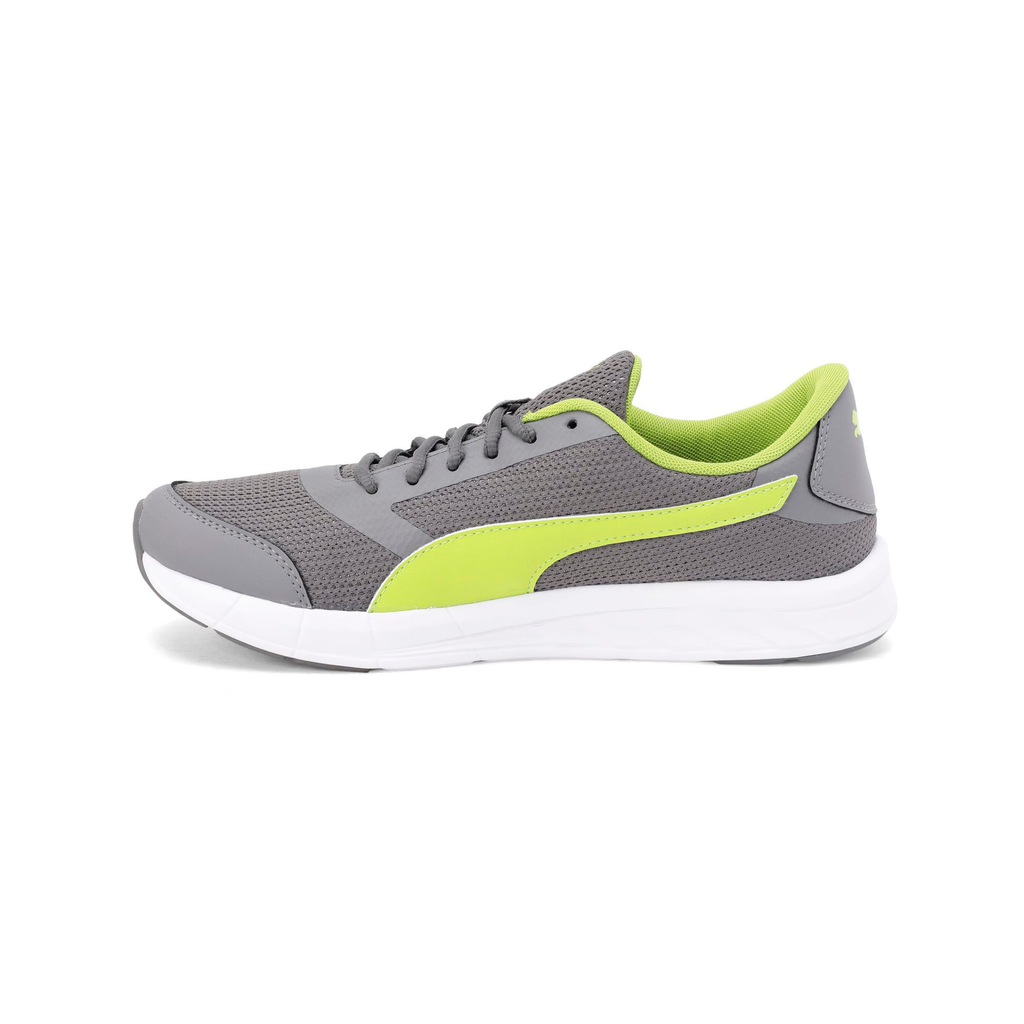 Thumbnail 1 of Solar V IDP Puma Black-Puma White, Charcoal Gray-White-Lime, medium-IND