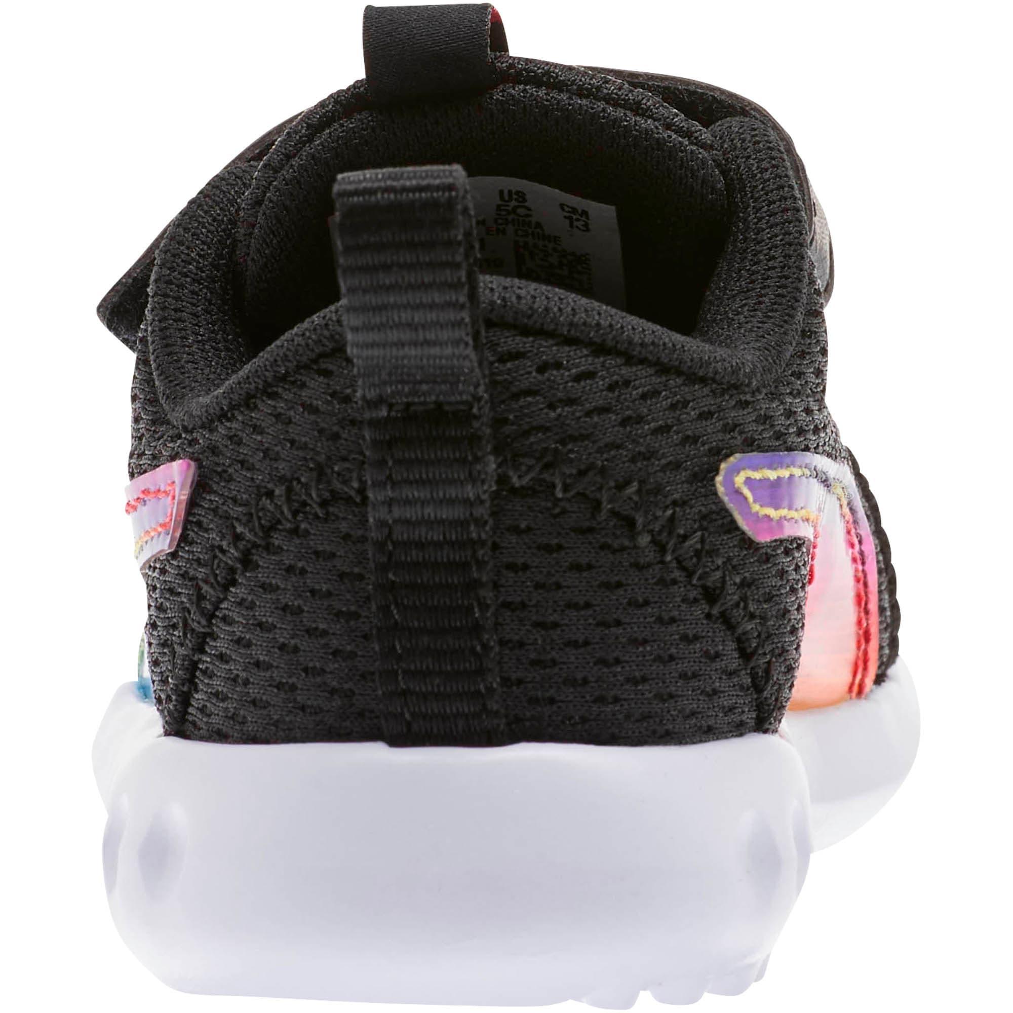 Thumbnail 3 of Carson 2 Iridescent Toddler Shoes, Puma Black-Puma White, medium