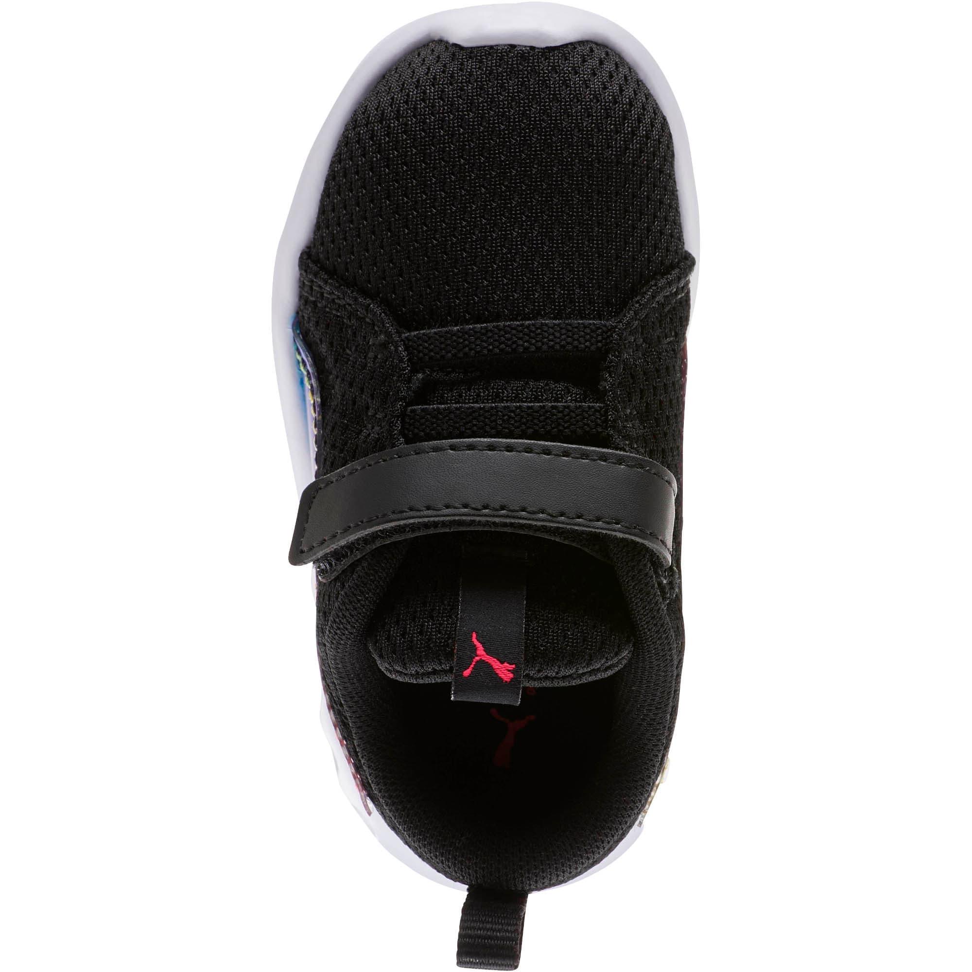 Thumbnail 5 of Carson 2 Iridescent Toddler Shoes, Puma Black-Puma White, medium