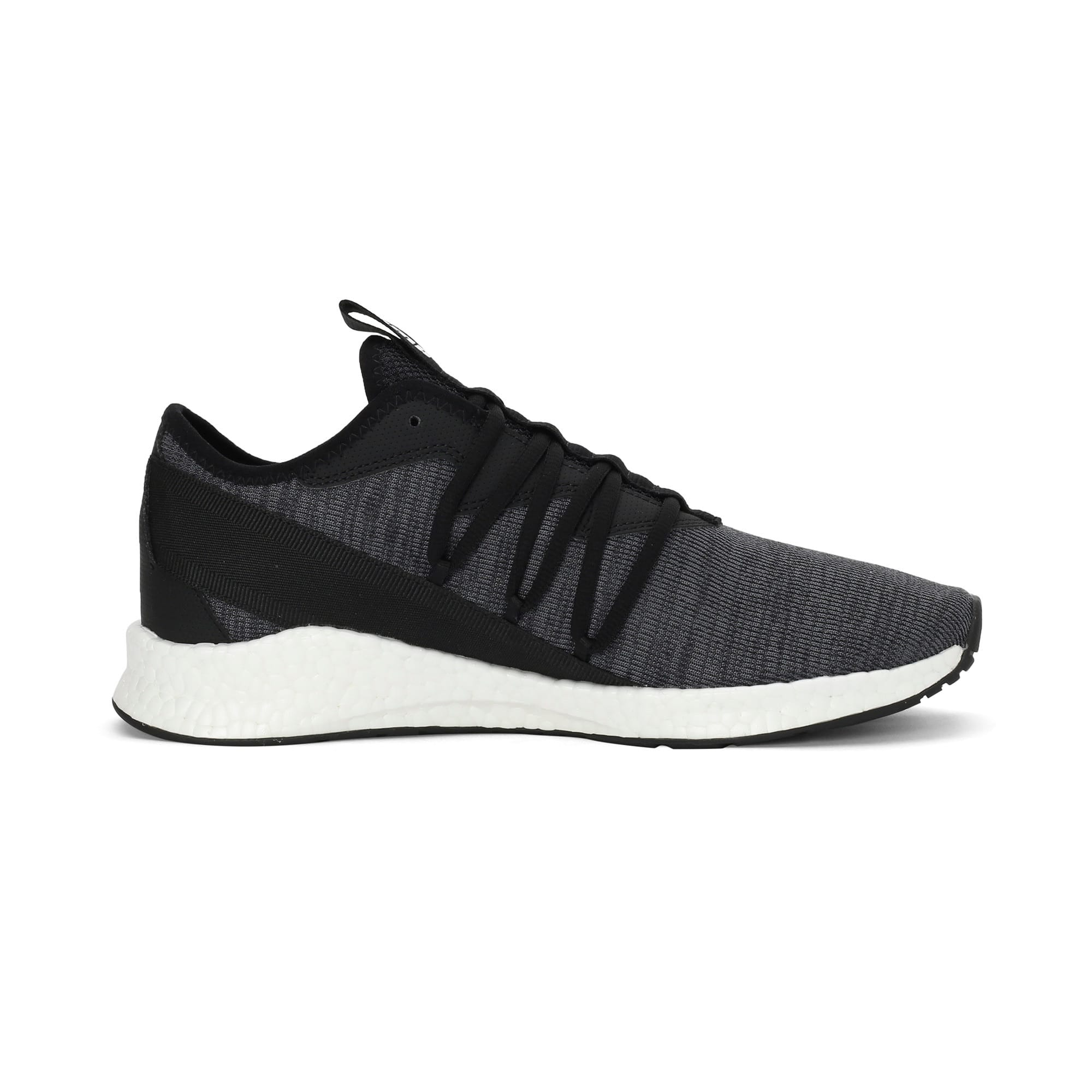 Thumbnail 5 of NRGY Star Knit one8 Unisex Running Shoes, Puma Black-Puma White, medium-IND