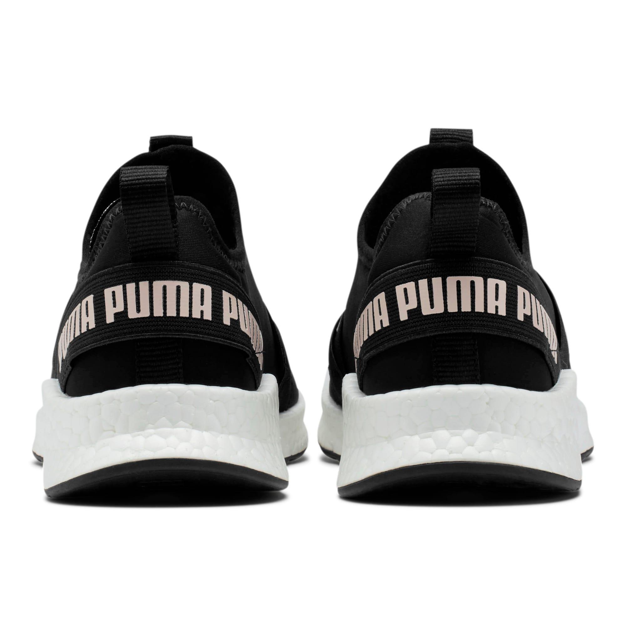 Thumbnail 3 of NRGY Star Slip-On Women's Running Shoes, Black-Pearl-White, medium