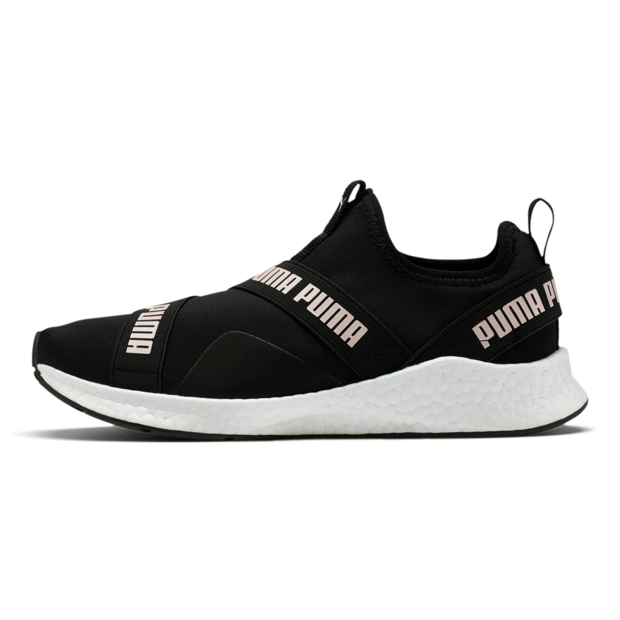Thumbnail 1 of NRGY Star Slip-On Women's Running Shoes, Black-Pearl-White, medium