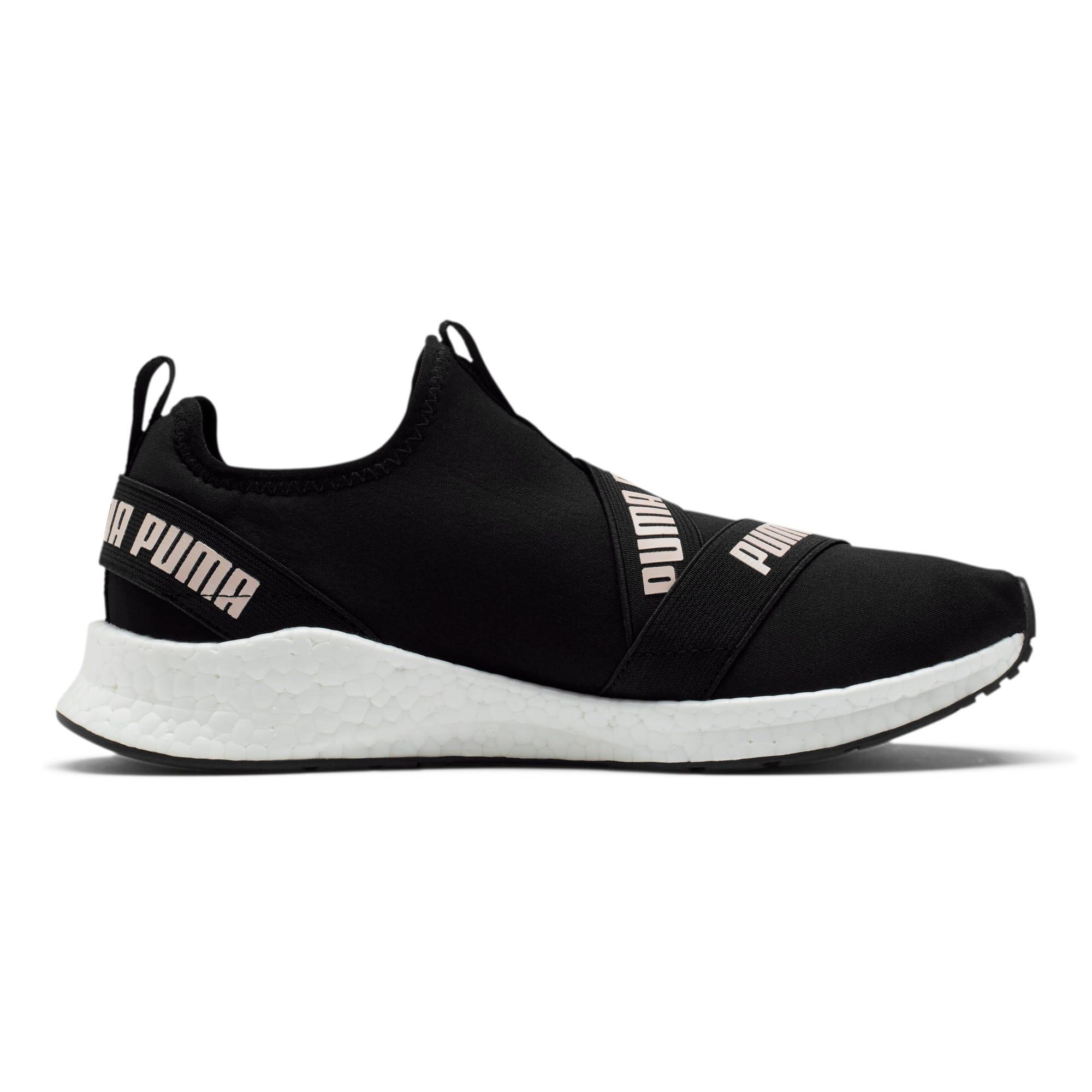 Thumbnail 5 of NRGY Star Slip-On Women's Running Shoes, Black-Pearl-White, medium