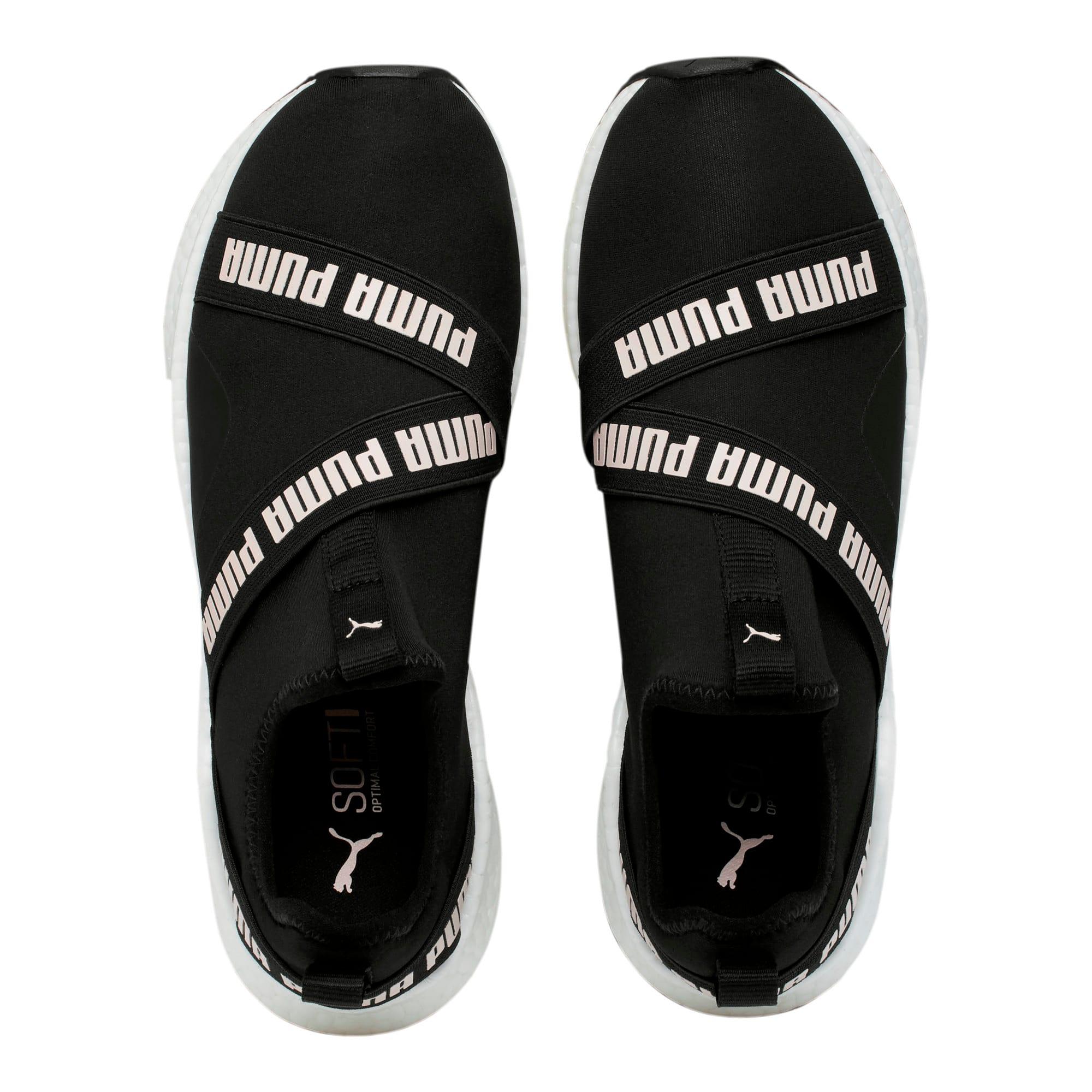 Thumbnail 6 of NRGY Star Slip-On Women's Running Shoes, Black-Pearl-White, medium