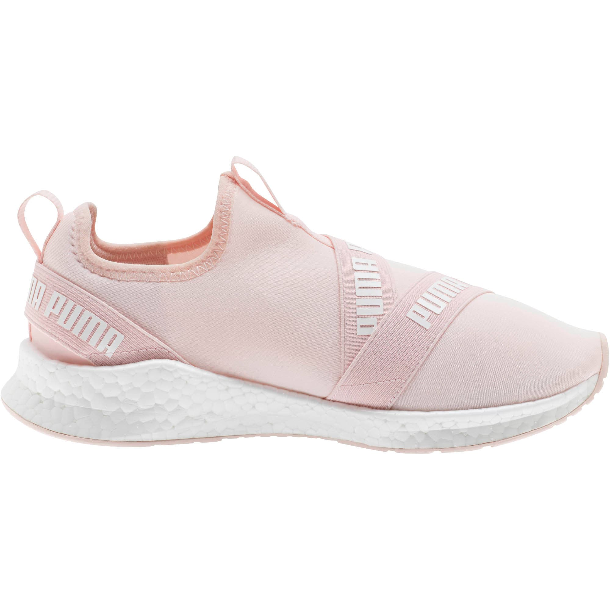 Thumbnail 4 of NRGY Star Slip-On Women's Running Shoes, Pearl-Puma White, medium