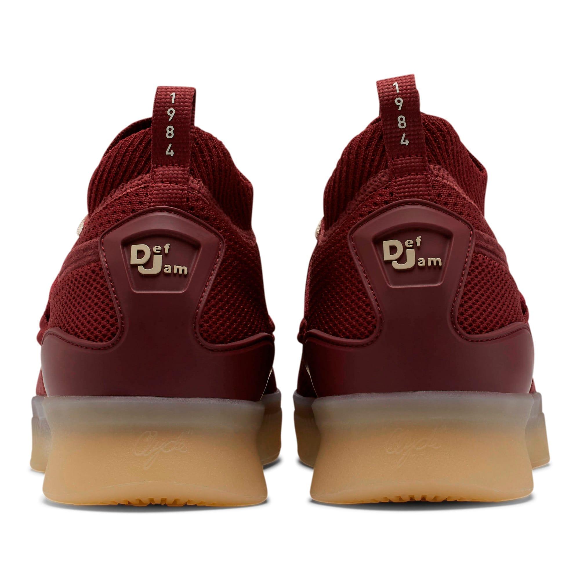 Thumbnail 3 of Clyde Court Def Jam Basketball Shoes, Cordovan, medium