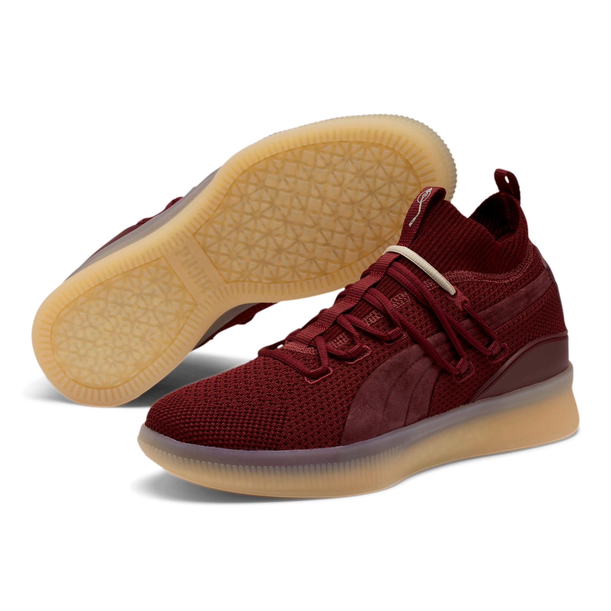 Thumbnail 2 of Clyde Court Def Jam Basketball Shoes, Cordovan, medium