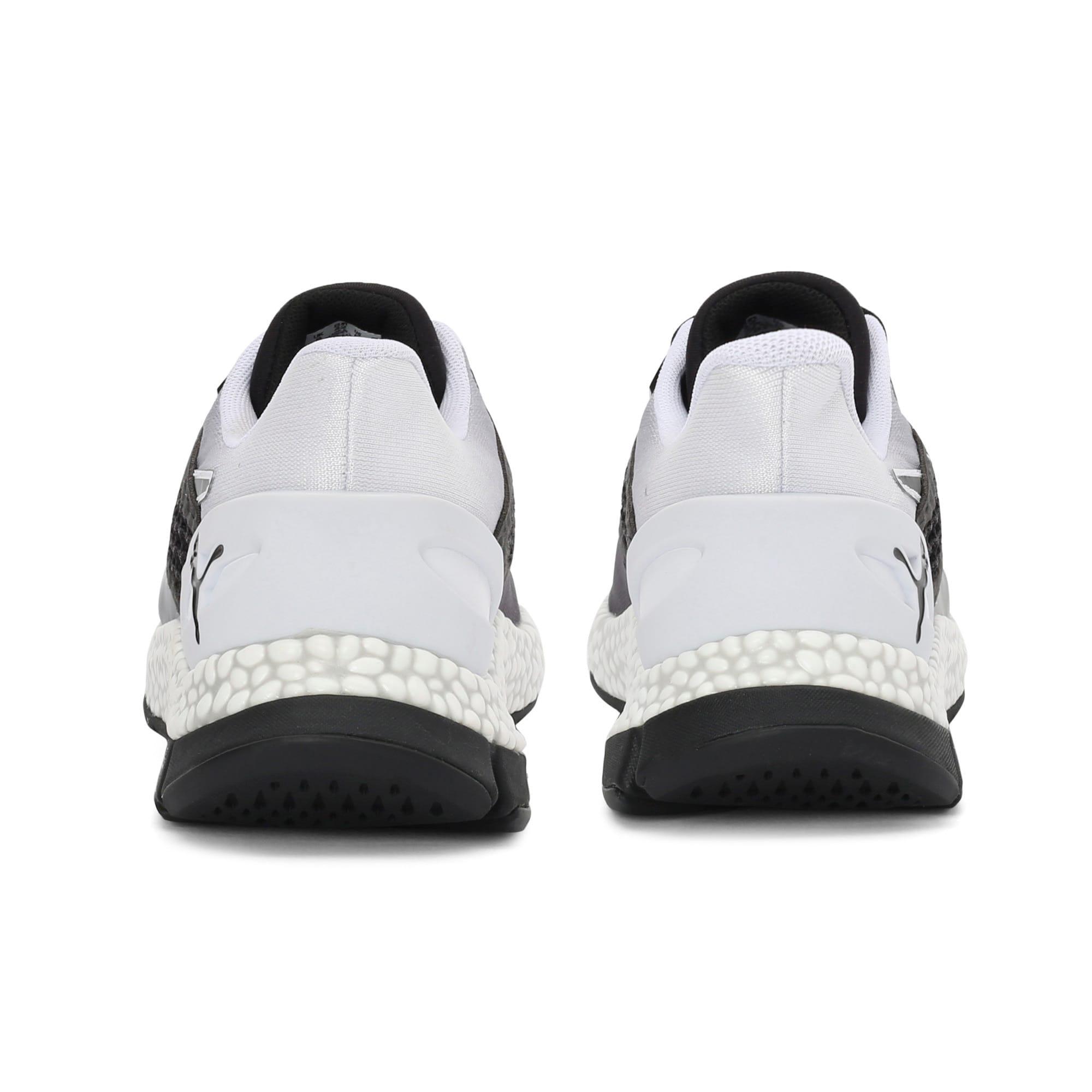 Thumbnail 3 of HYBRID Astro one8 Unisex Running Shoes, Puma Black-Puma White, medium-IND