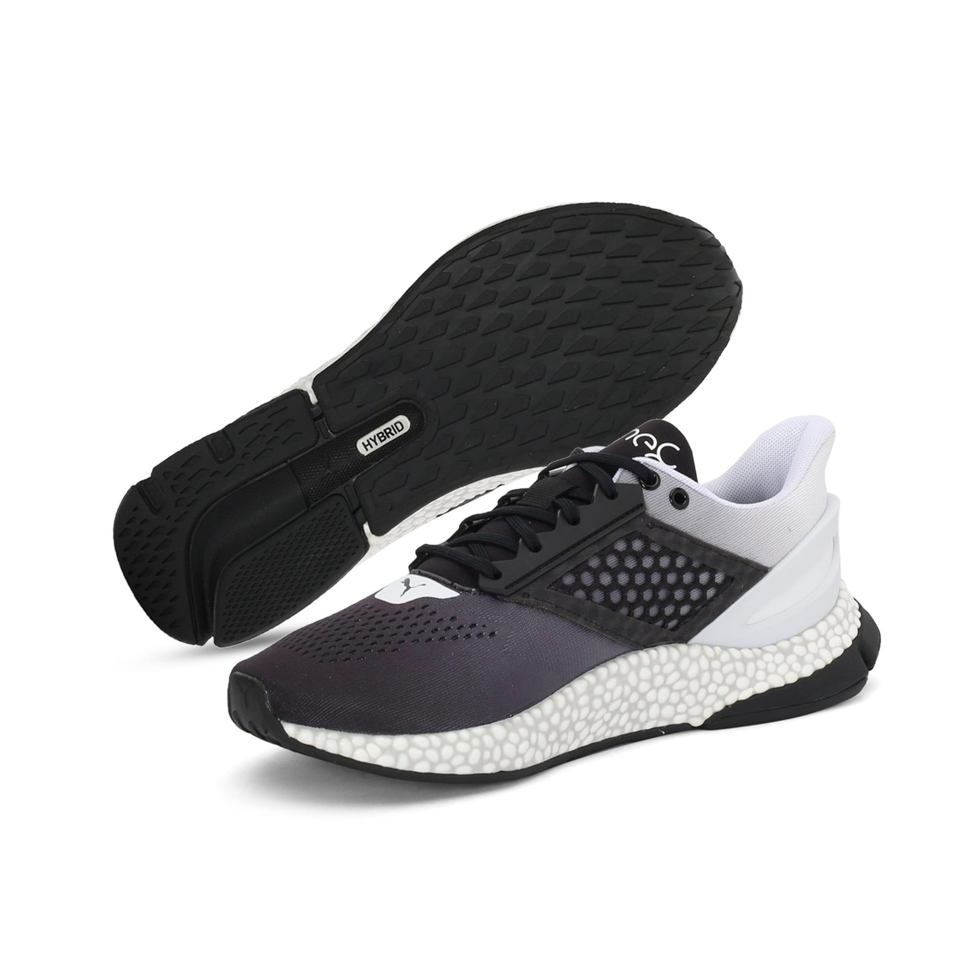 Thumbnail 2 of HYBRID Astro one8 Unisex Running Shoes, Puma Black-Puma White, medium-IND