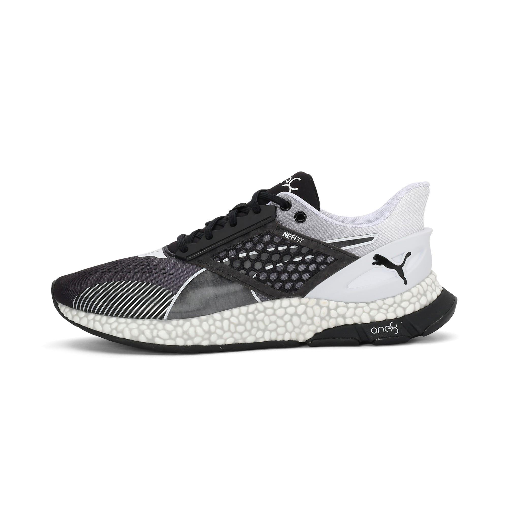 Thumbnail 1 of HYBRID Astro one8 Unisex Running Shoes, Puma Black-Puma White, medium-IND