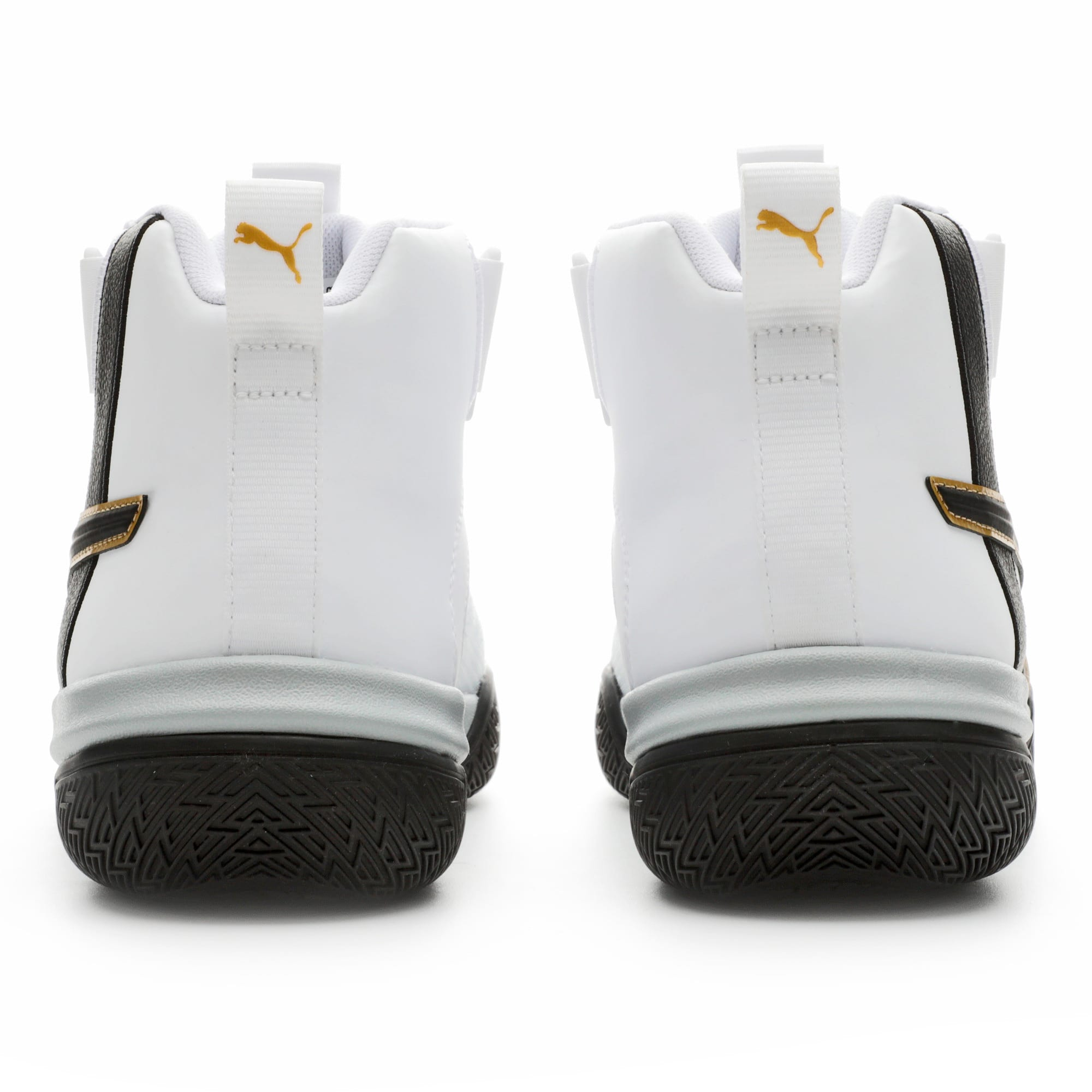 Thumbnail 3 of Legacy '68 Basketball Shoes, Puma Black-Puma White, medium-IND