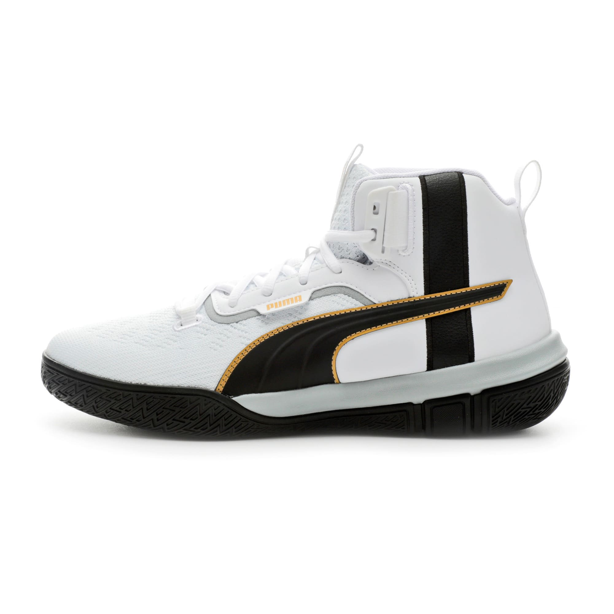 Thumbnail 1 of Legacy '68 Basketball Shoes, Puma Black-Puma White, medium
