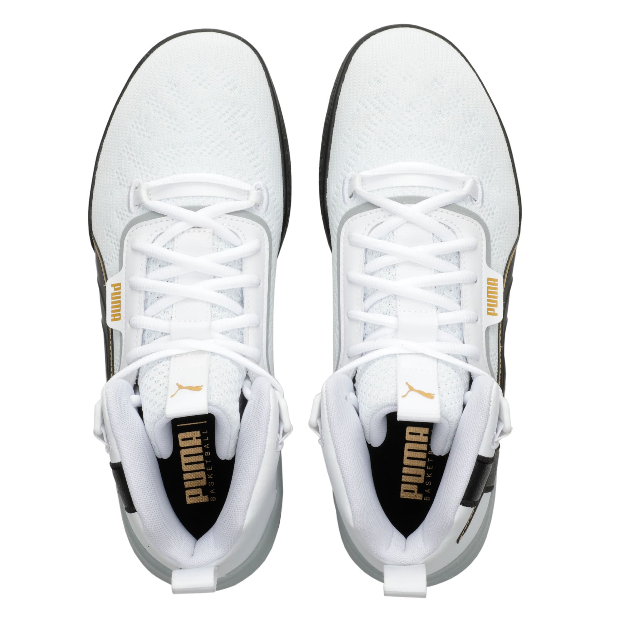Thumbnail 6 of Legacy '68 Basketball Shoes, Puma Black-Puma White, medium