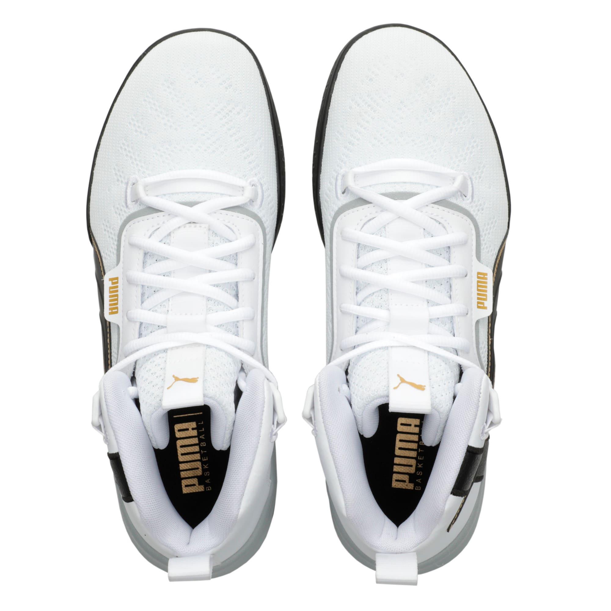 Thumbnail 6 of Legacy '68 Basketball Shoes, Puma Black-Puma White, medium-IND