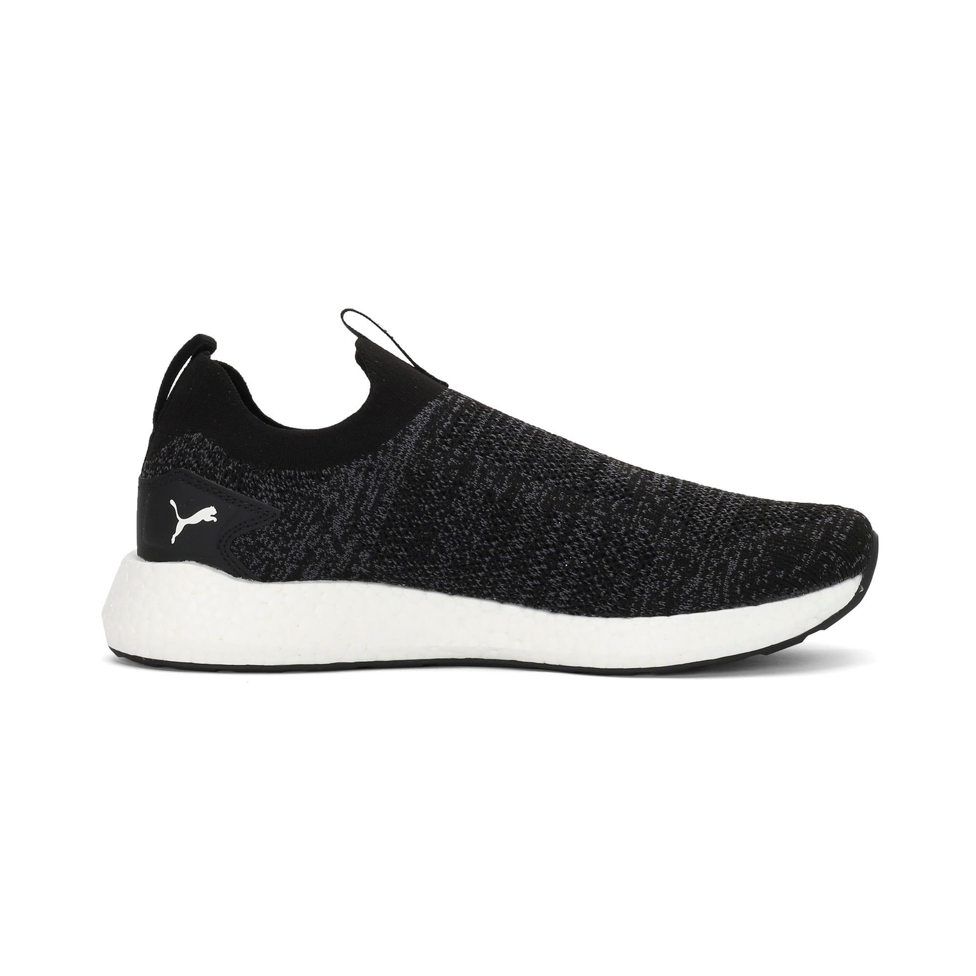 Thumbnail 5 of NRGY Neko Slip-On one8 Unisex Running Shoes, Puma Black-Puma White, medium-IND