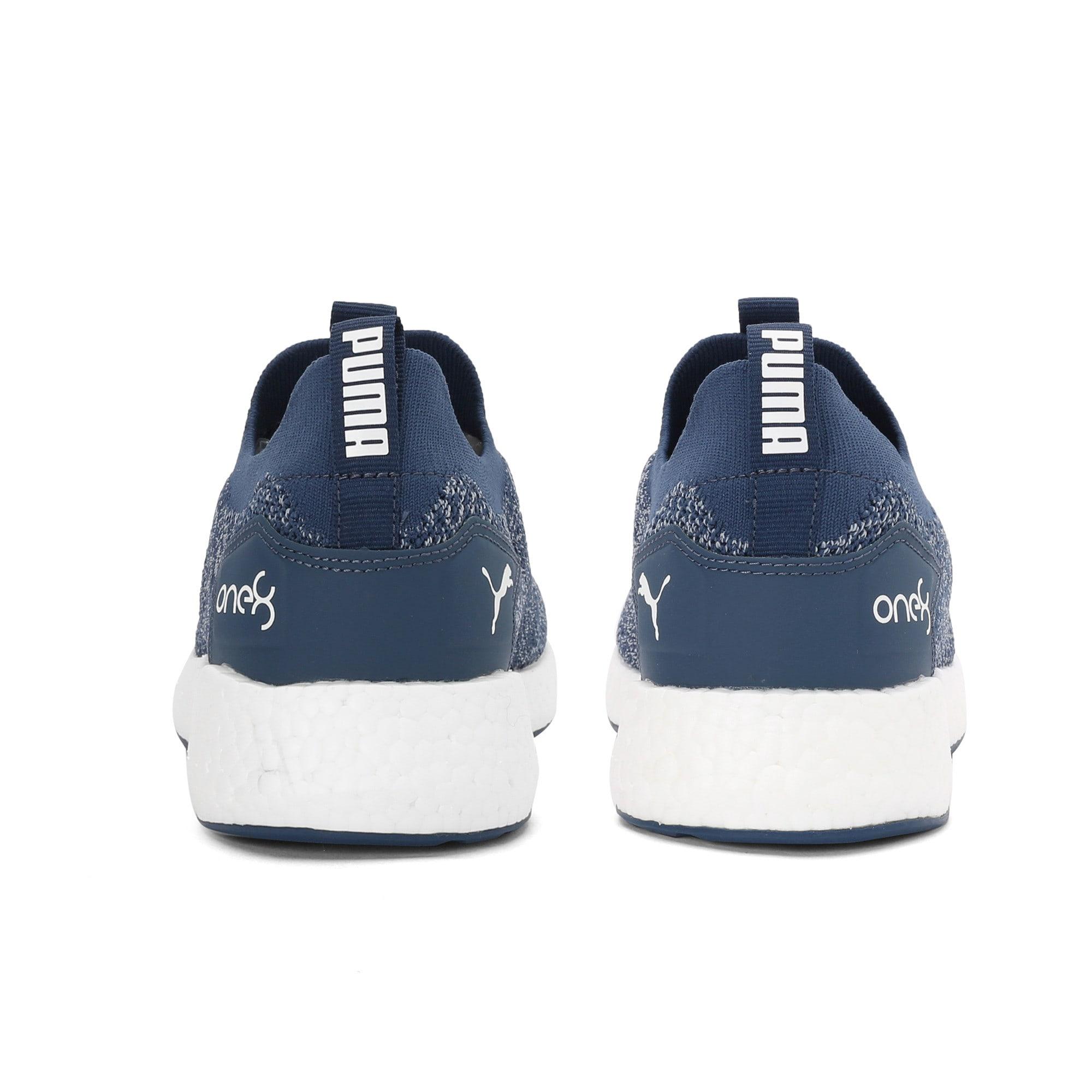 Thumbnail 3 of NRGY Neko Slip-On one8 Unisex Running Shoes, Dark Denim-Puma White, medium-IND