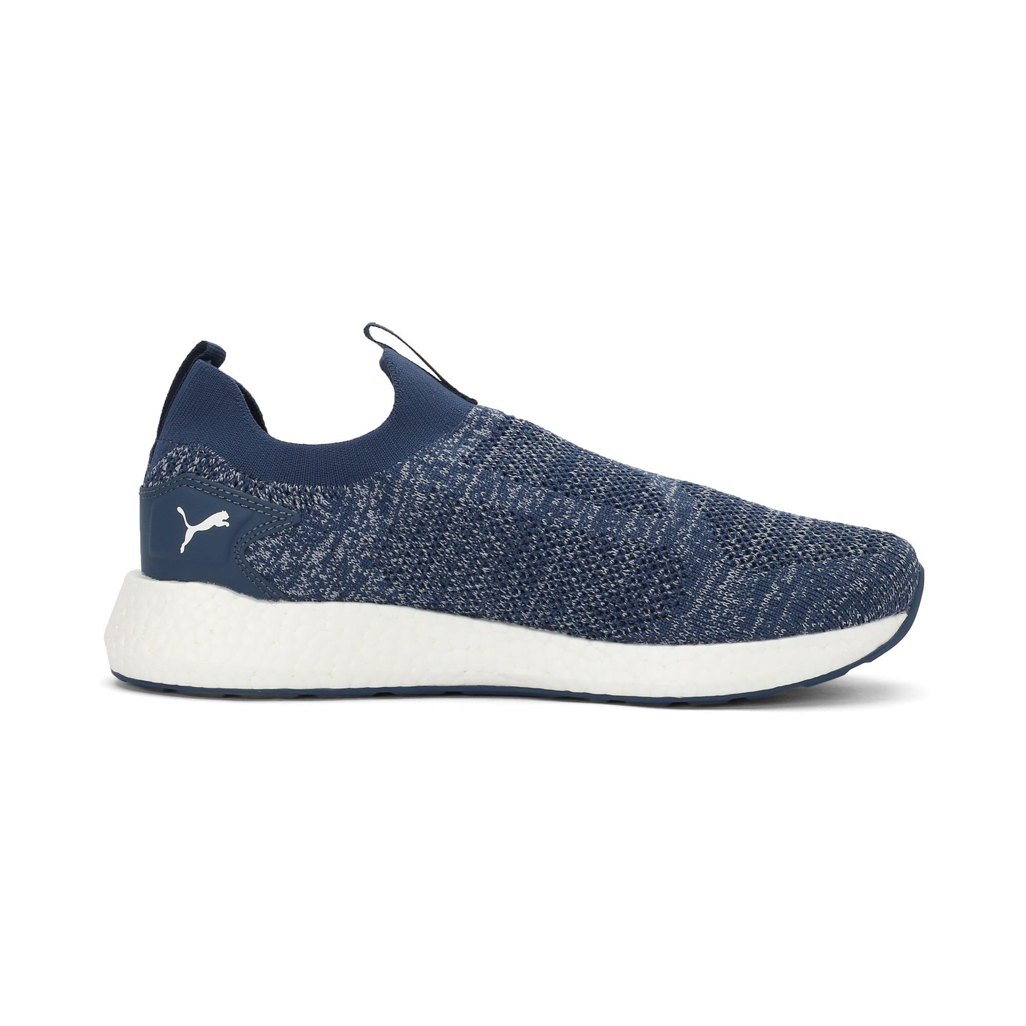 Thumbnail 5 of NRGY Neko Slip-On one8 Unisex Running Shoes, Dark Denim-Puma White, medium-IND