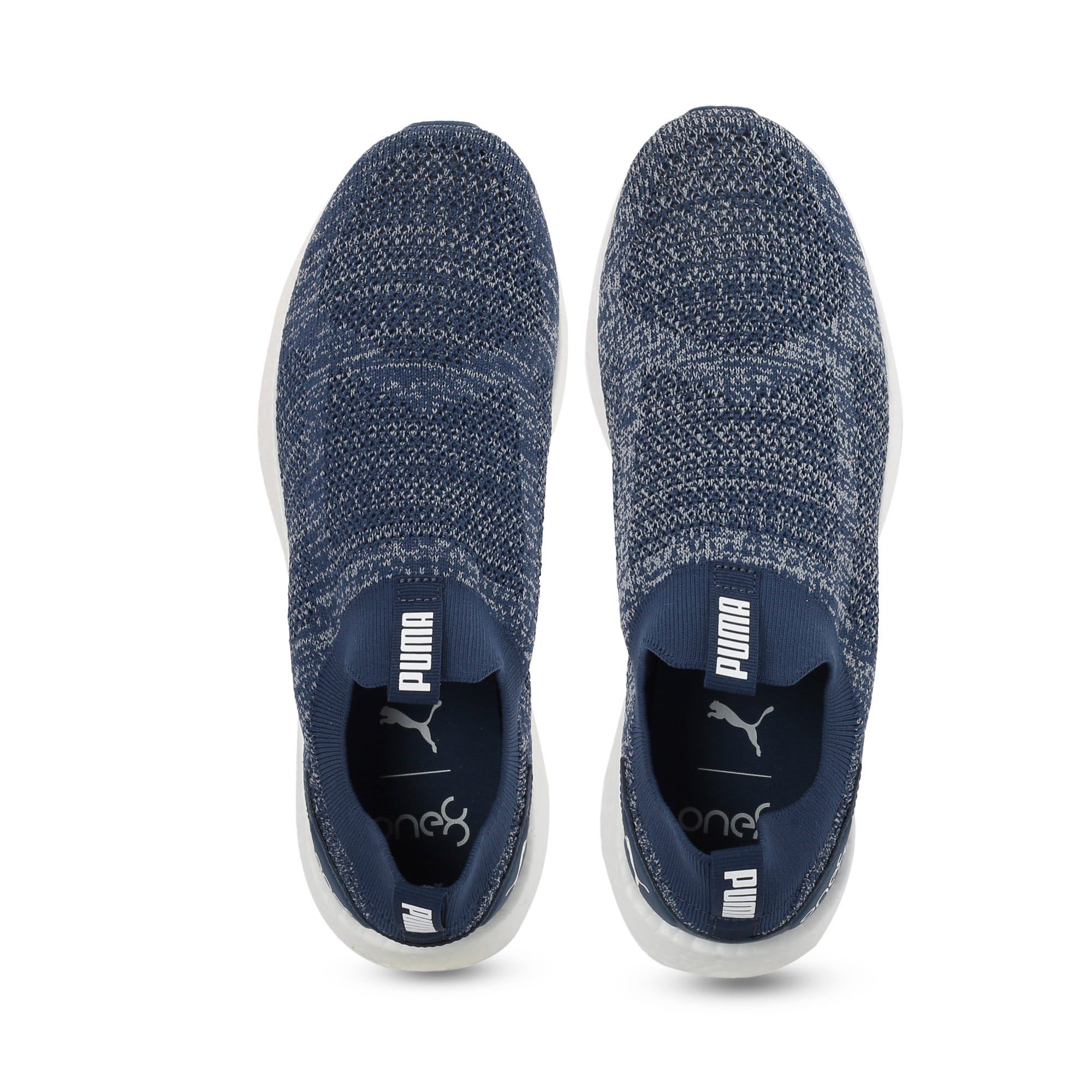 Thumbnail 6 of NRGY Neko Slip-On one8 Unisex Running Shoes, Dark Denim-Puma White, medium-IND