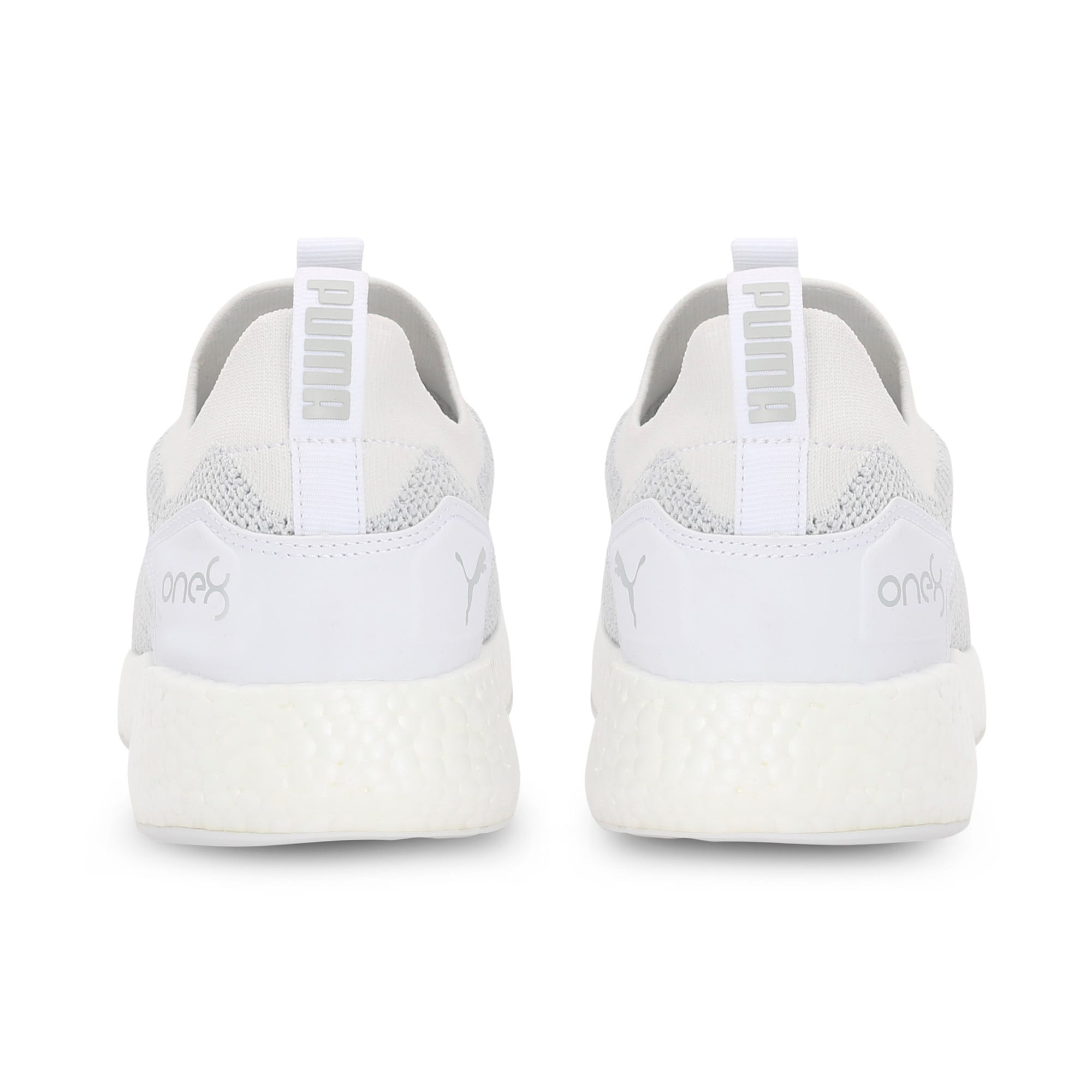 Thumbnail 3 of NRGY Neko Slip-On one8 Unisex Running Shoes, Puma White-Glacier Gray, medium-IND