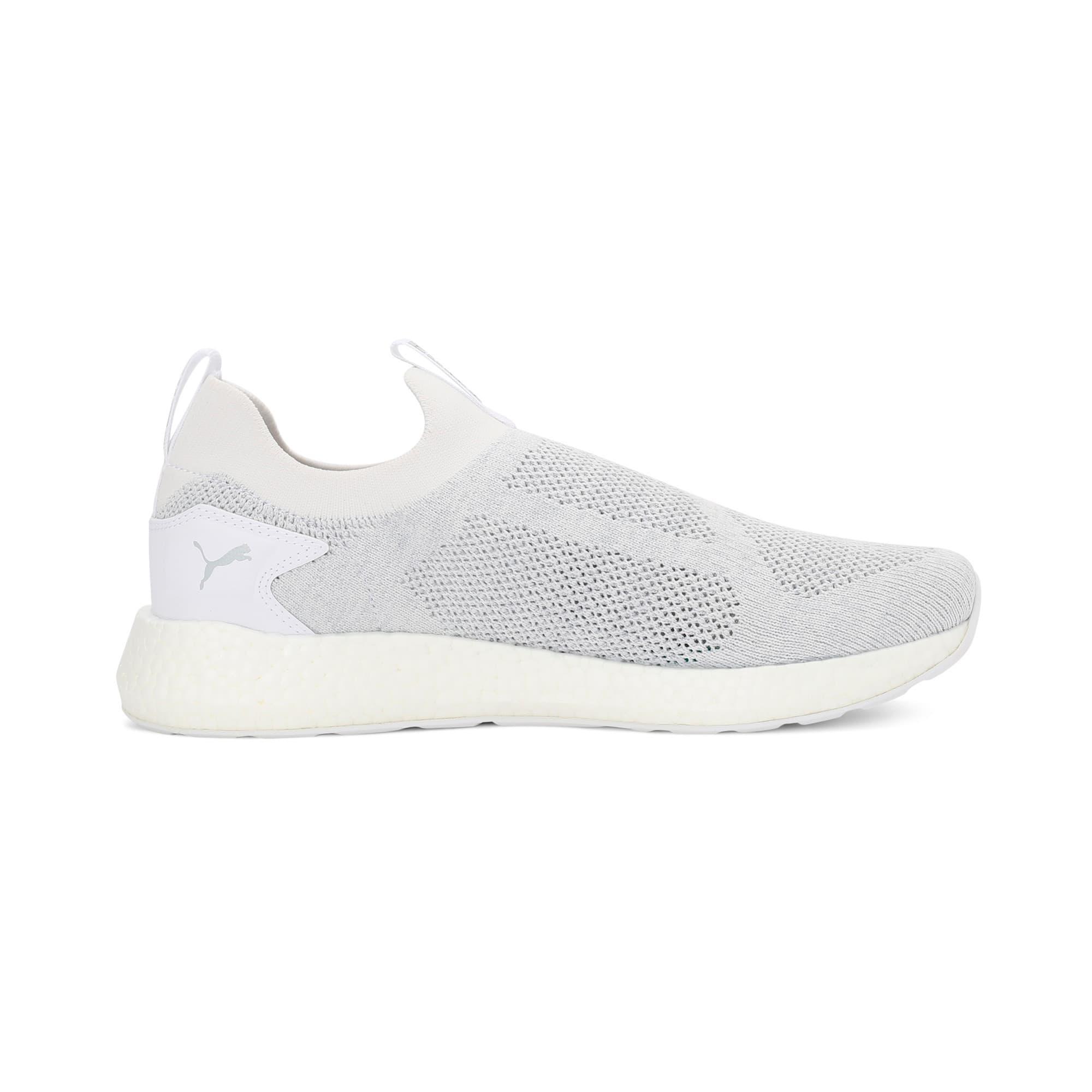 Thumbnail 5 of NRGY Neko Slip-On one8 Unisex Running Shoes, Puma White-Glacier Gray, medium-IND