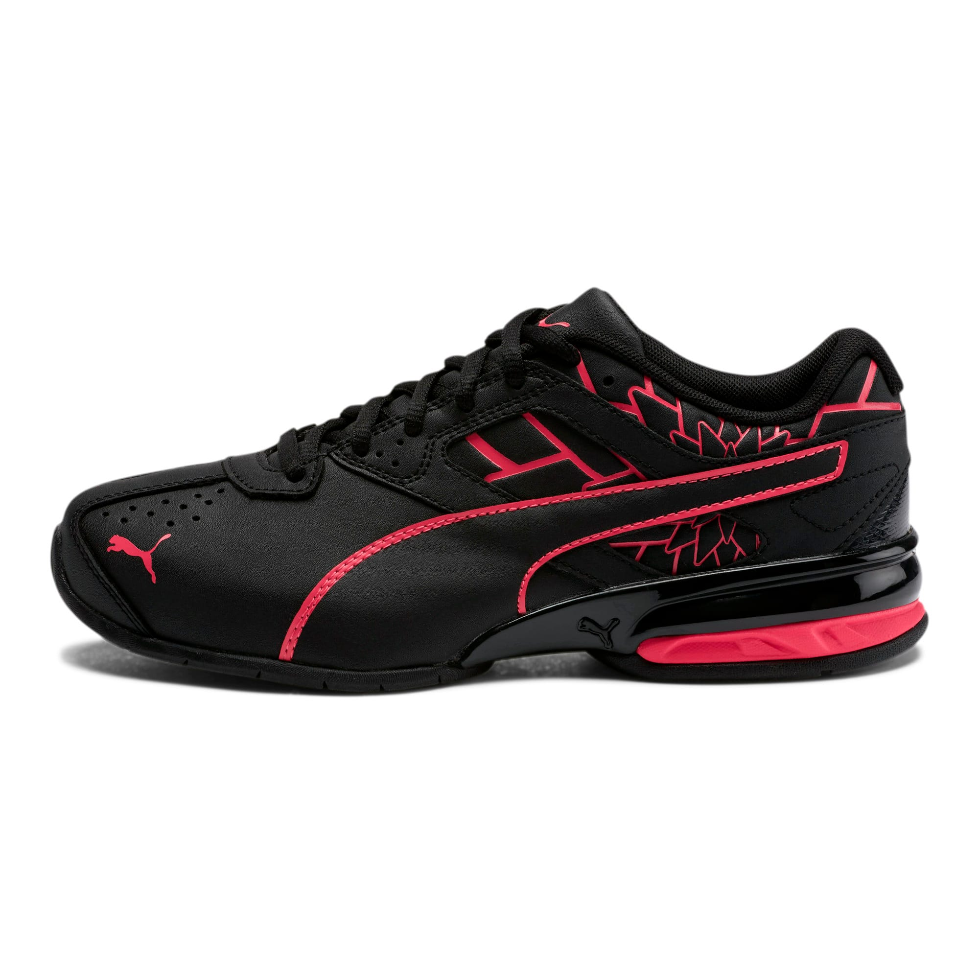Tazon 6 Graphic Women's Sneakers, Puma Black-Nrgy Rose, large