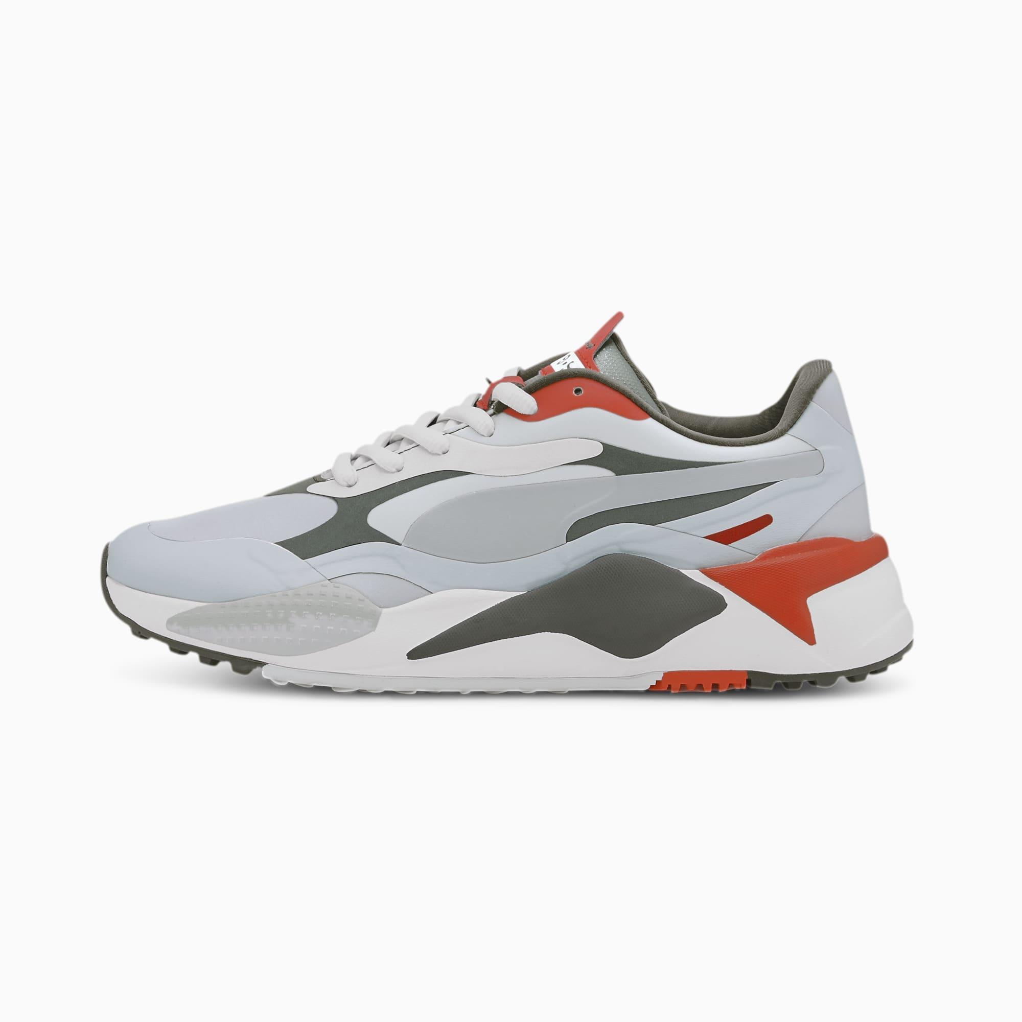 Rs G Golf Shoes Gray Thyme Pureed Pumpkin Puma Shoes Puma United Kingdom