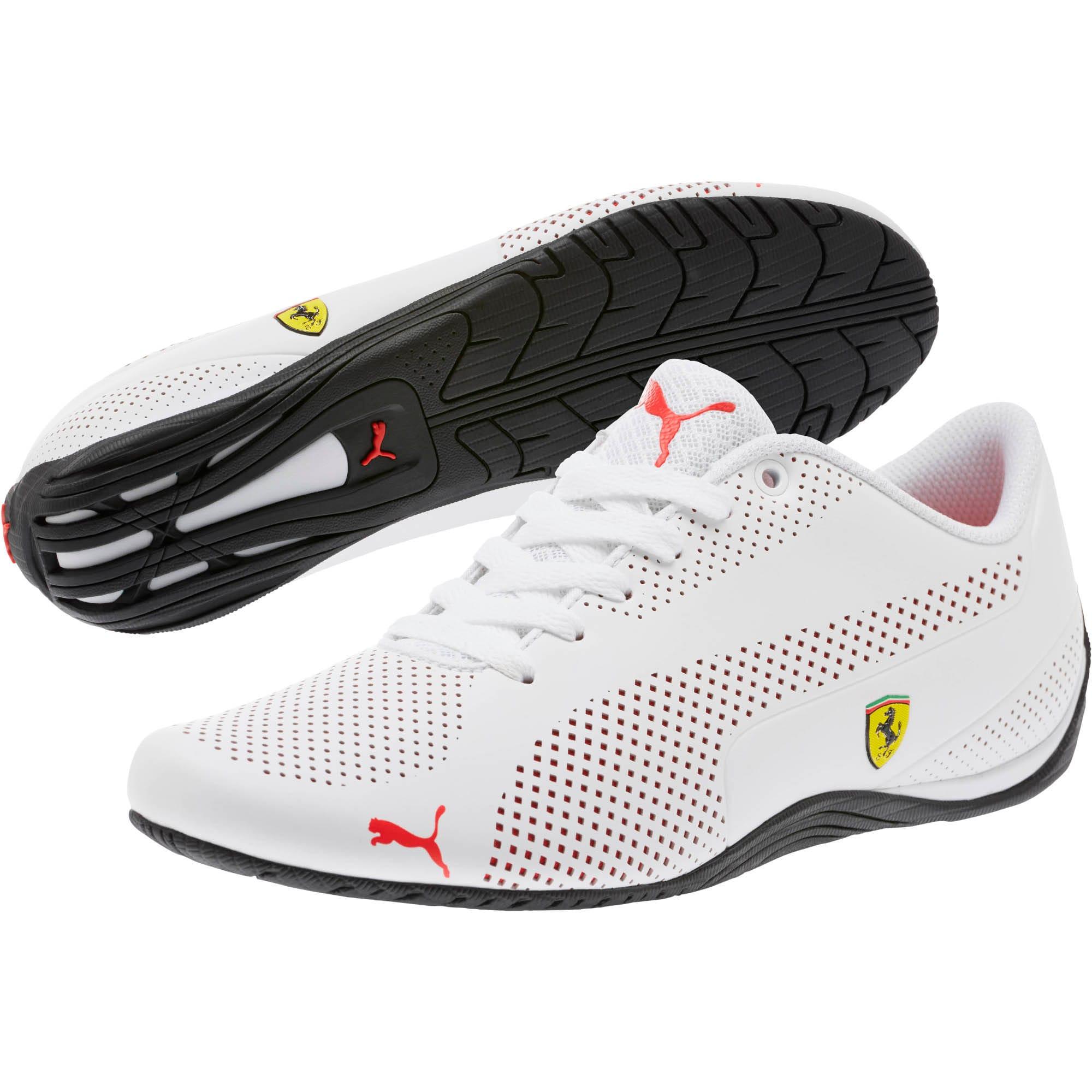 Miniatura 2 de Zapatos Scuderia Ferrari Drift Cat 5 Ultra, Puma White-Rosso Corsa-Black, mediano