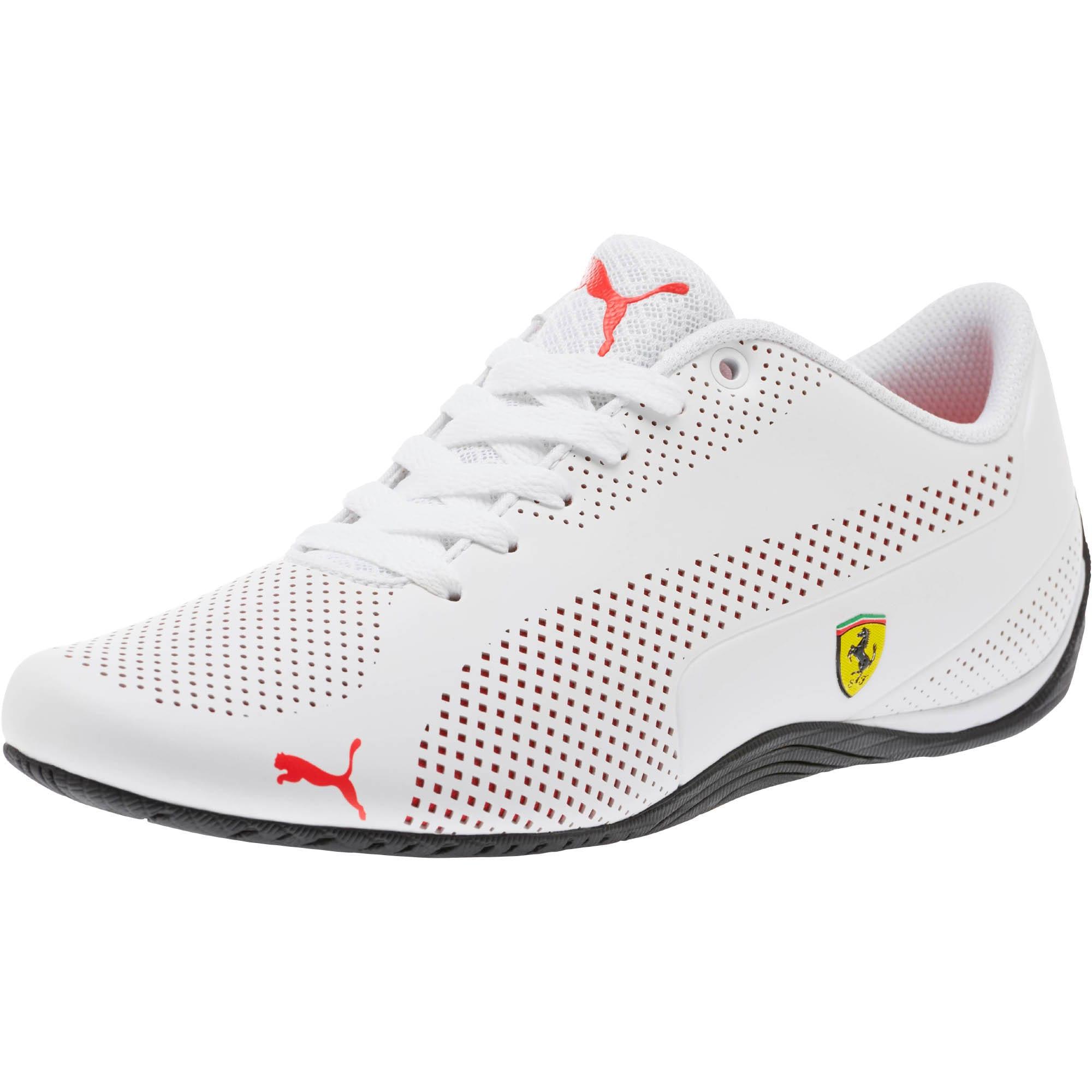 Miniatura 1 de Zapatos Scuderia Ferrari Drift Cat 5 Ultra, Puma White-Rosso Corsa-Black, mediano