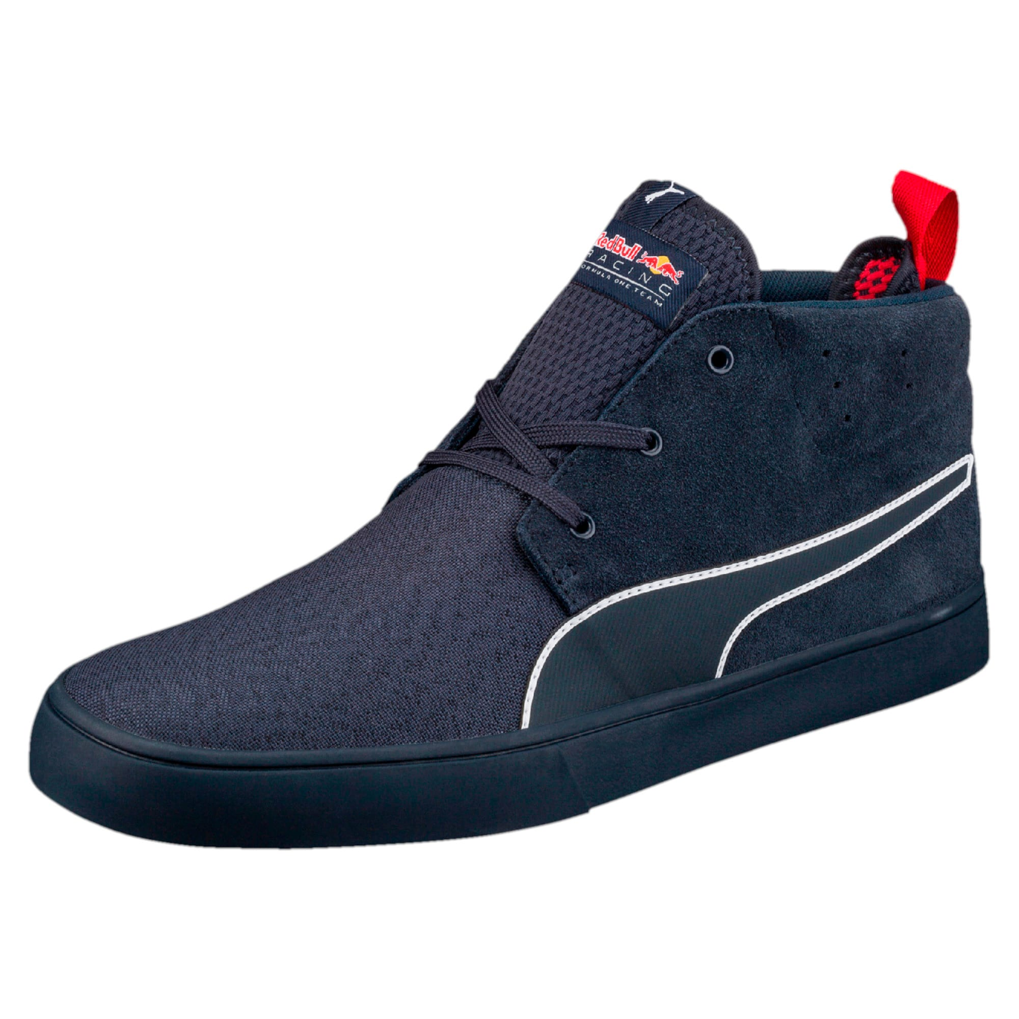 Thumbnail 1 of Red Bull Racing Vulc Desert Boots, Total Eclipse-Chinese Red, medium-IND