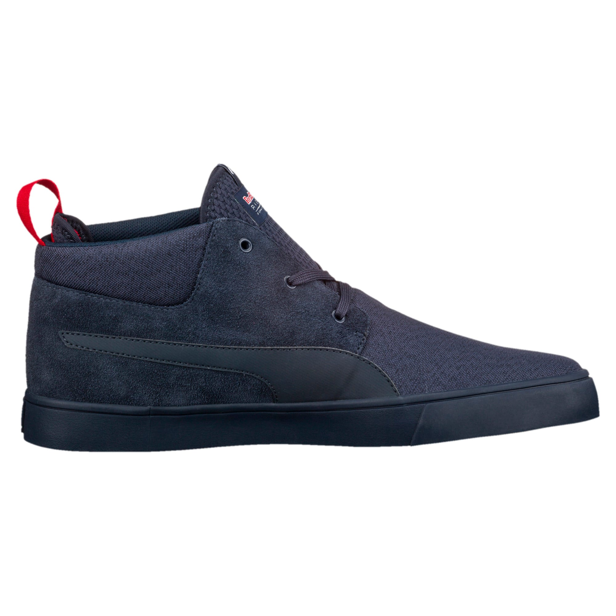 Thumbnail 4 of Red Bull Racing Vulc Desert Boots, Total Eclipse-Chinese Red, medium-IND