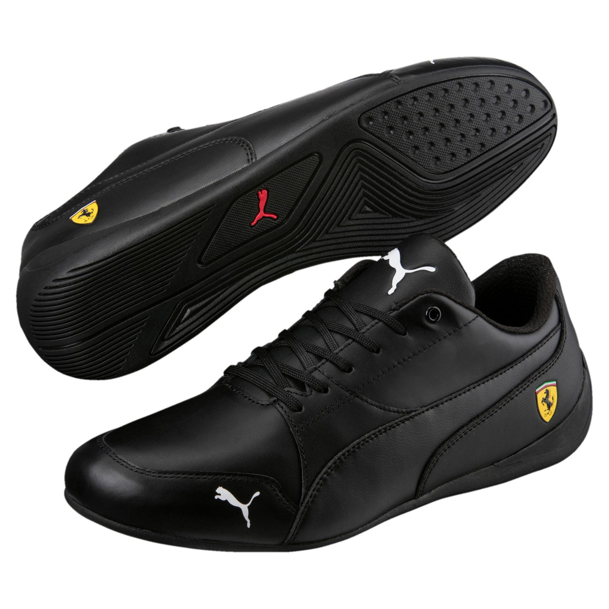 Thumbnail 6 of Ferrari Drift Cat 7 Trainers, Puma Black-Puma Black, medium-IND