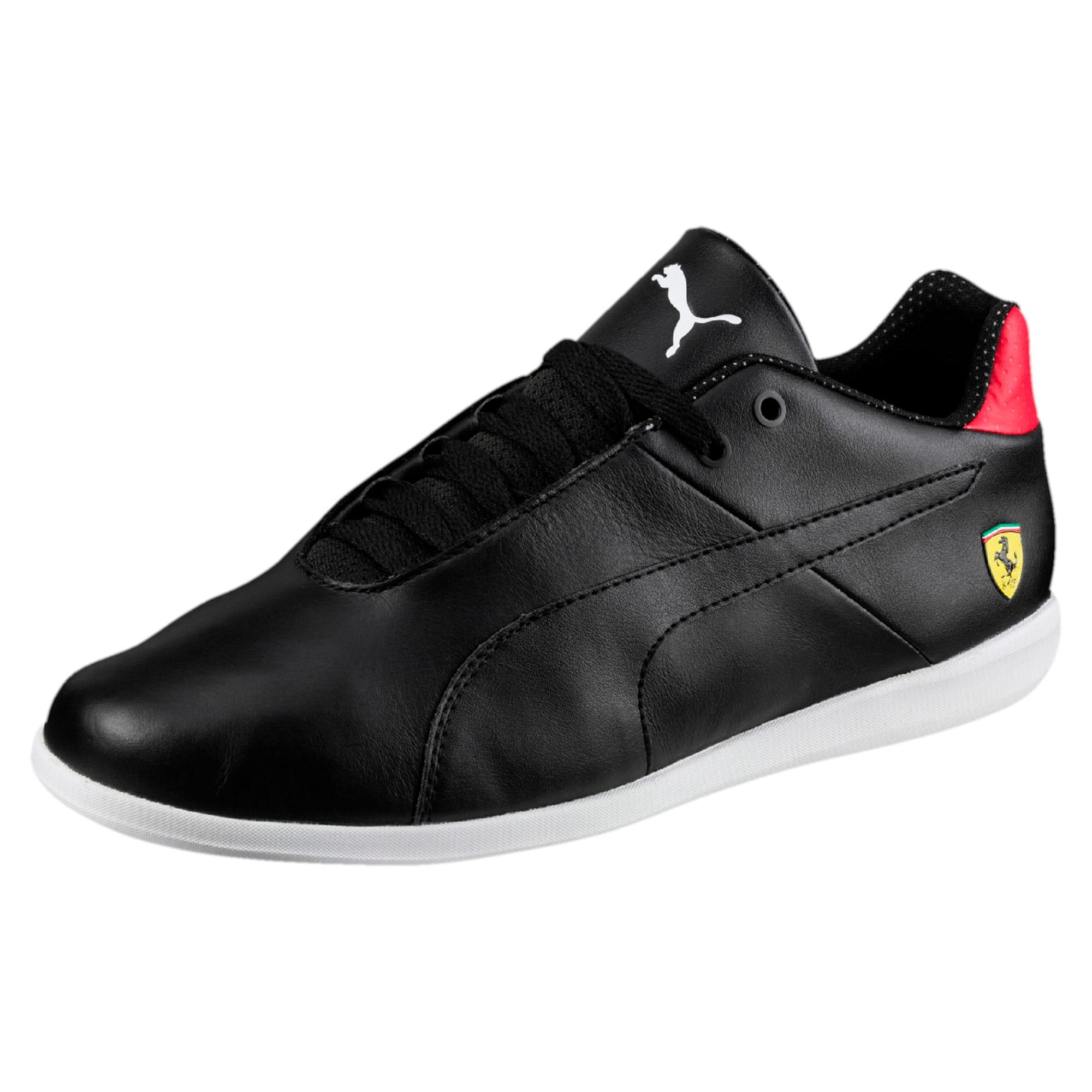 Thumbnail 1 of Ferrari Future Cat Casual Trainers, Puma Black-Blk-Rosso Corsa, medium-IND