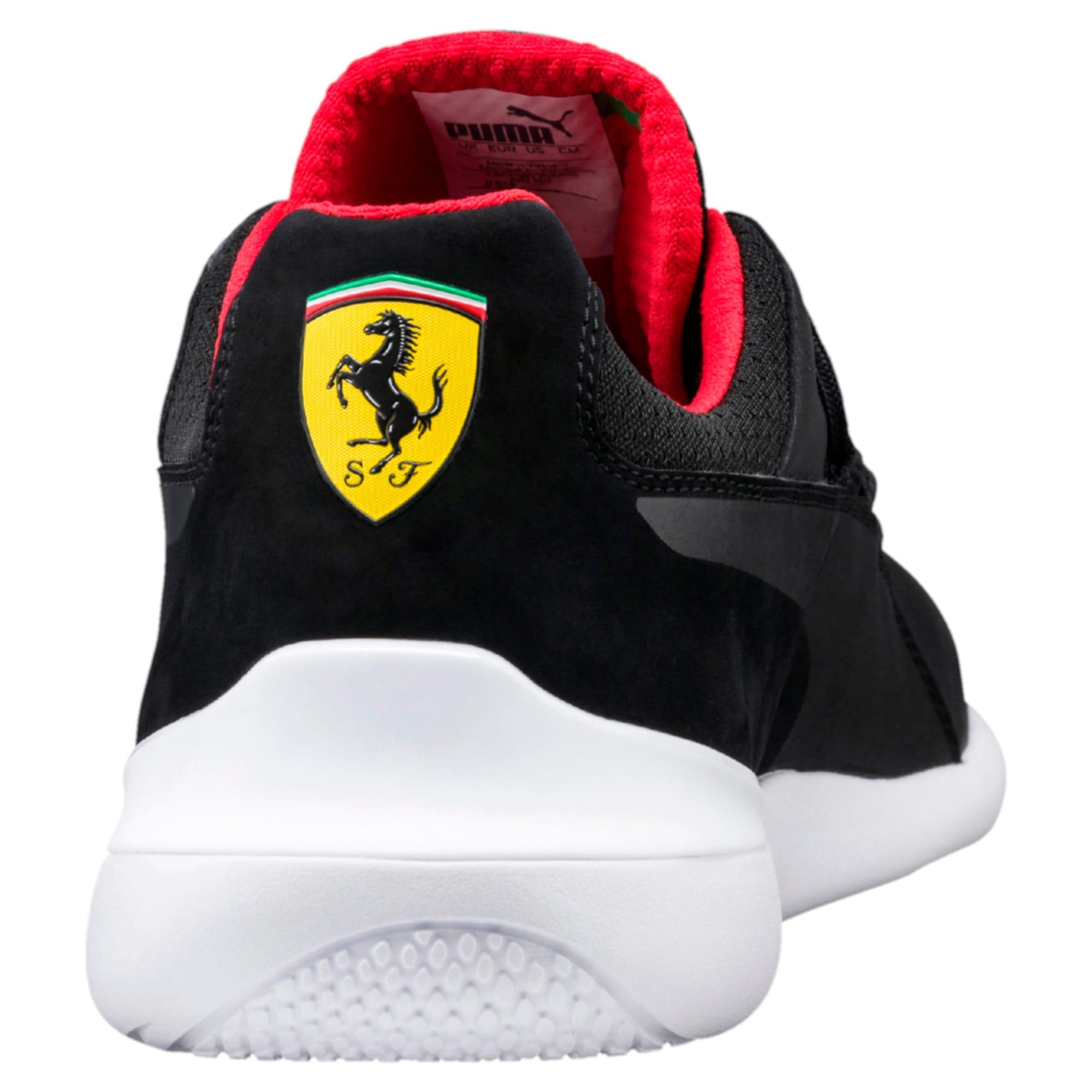 Thumbnail 4 of Ferrari Evo Cat Men's Trainers, Puma Black-Puma Black-White, medium-IND