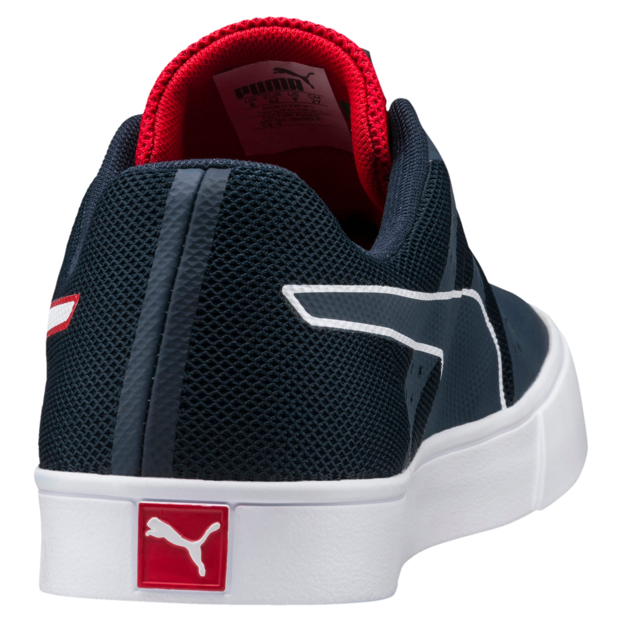 Thumbnail 4 of Red Bull Racing Wings Vulc Trainers, Ttl Eclipse-Wihte-Chns Red, medium