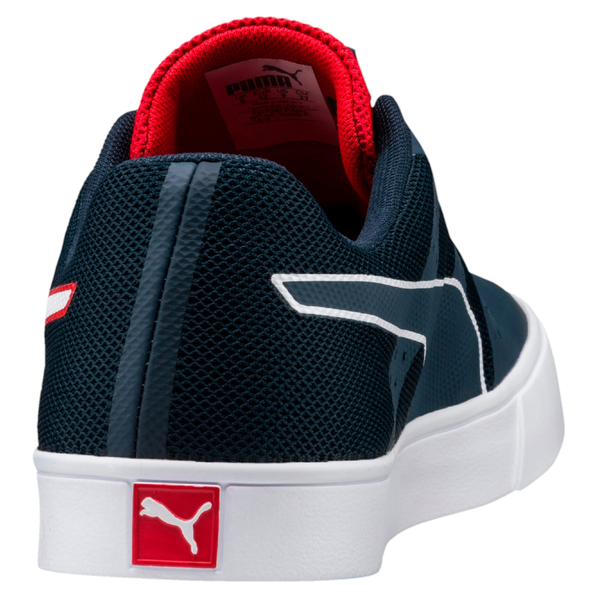 Thumbnail 3 of Red Bull Racing Wings Vulc Trainers, Ttl Eclipse-Wihte-Chns Red, medium-IND