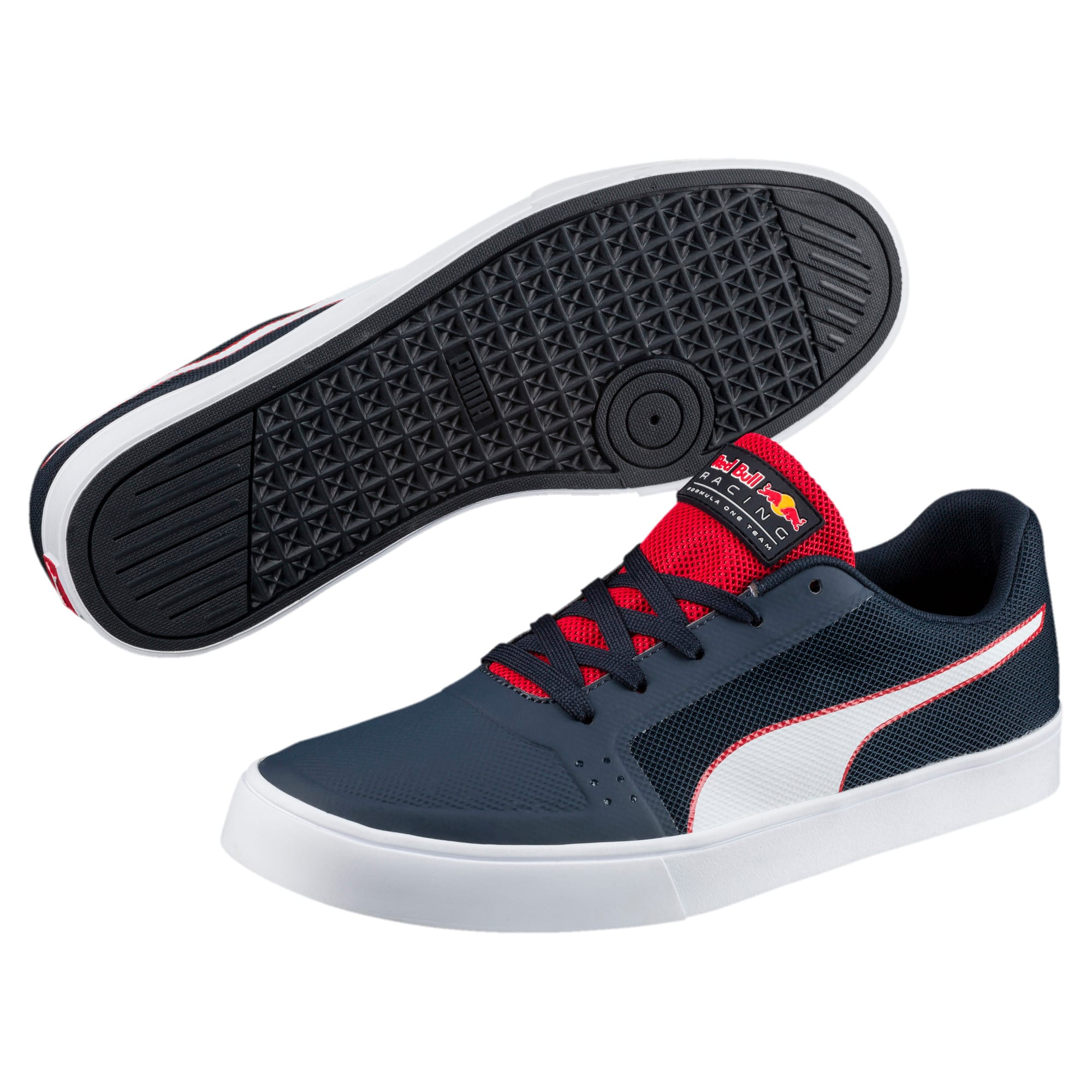Thumbnail 2 of Red Bull Racing Wings Vulc Trainers, Ttl Eclipse-Wihte-Chns Red, medium