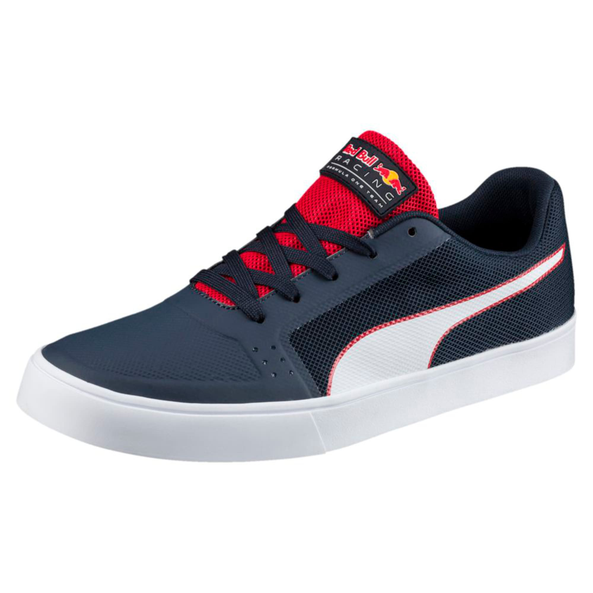 Thumbnail 1 of Red Bull Racing Wings Vulc Trainers, Ttl Eclipse-Wihte-Chns Red, medium-IND