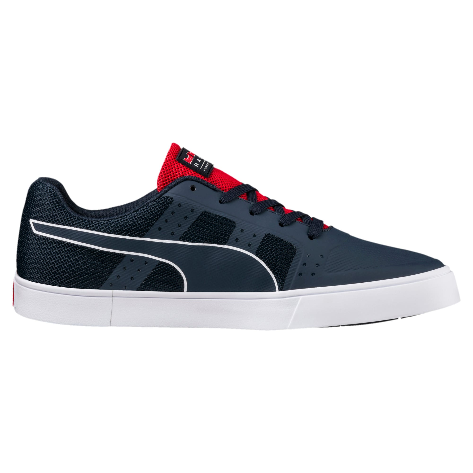 Thumbnail 3 of Red Bull Racing Wings Vulc Trainers, Ttl Eclipse-Wihte-Chns Red, medium