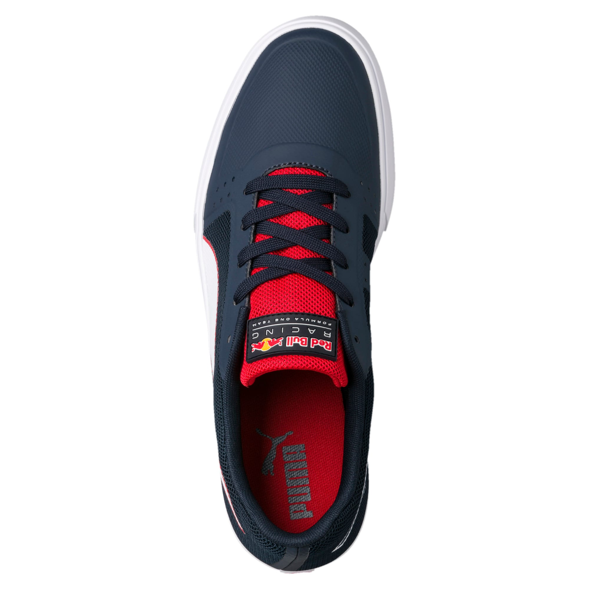 Thumbnail 5 of Red Bull Racing Wings Vulc Trainers, Ttl Eclipse-Wihte-Chns Red, medium-IND