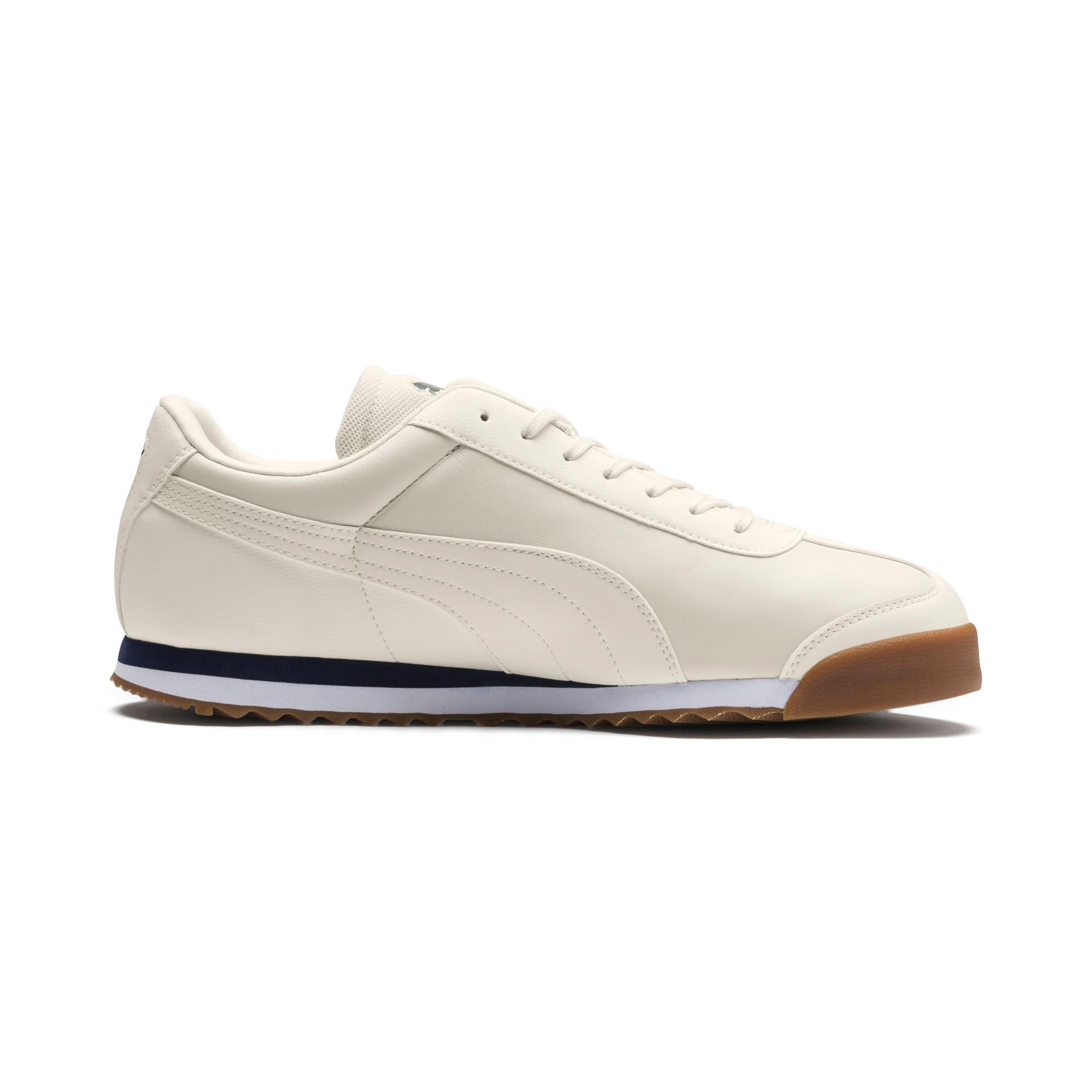 Thumbnail 5 of Scuderia Ferrari Roma Men's Sneakers, Whisper White-Whisper White, medium