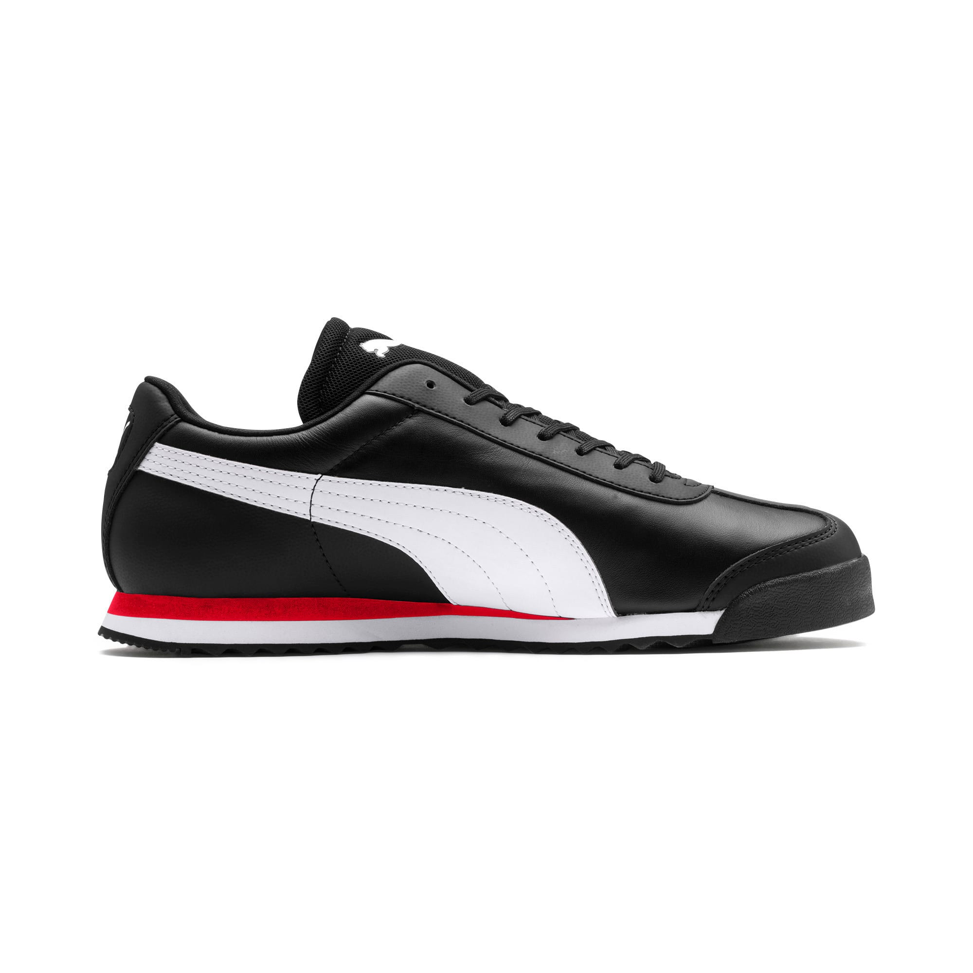 Thumbnail 6 of Scuderia Ferrari Roma Men's Sneakers, Black-White-Rosso Corsa, medium