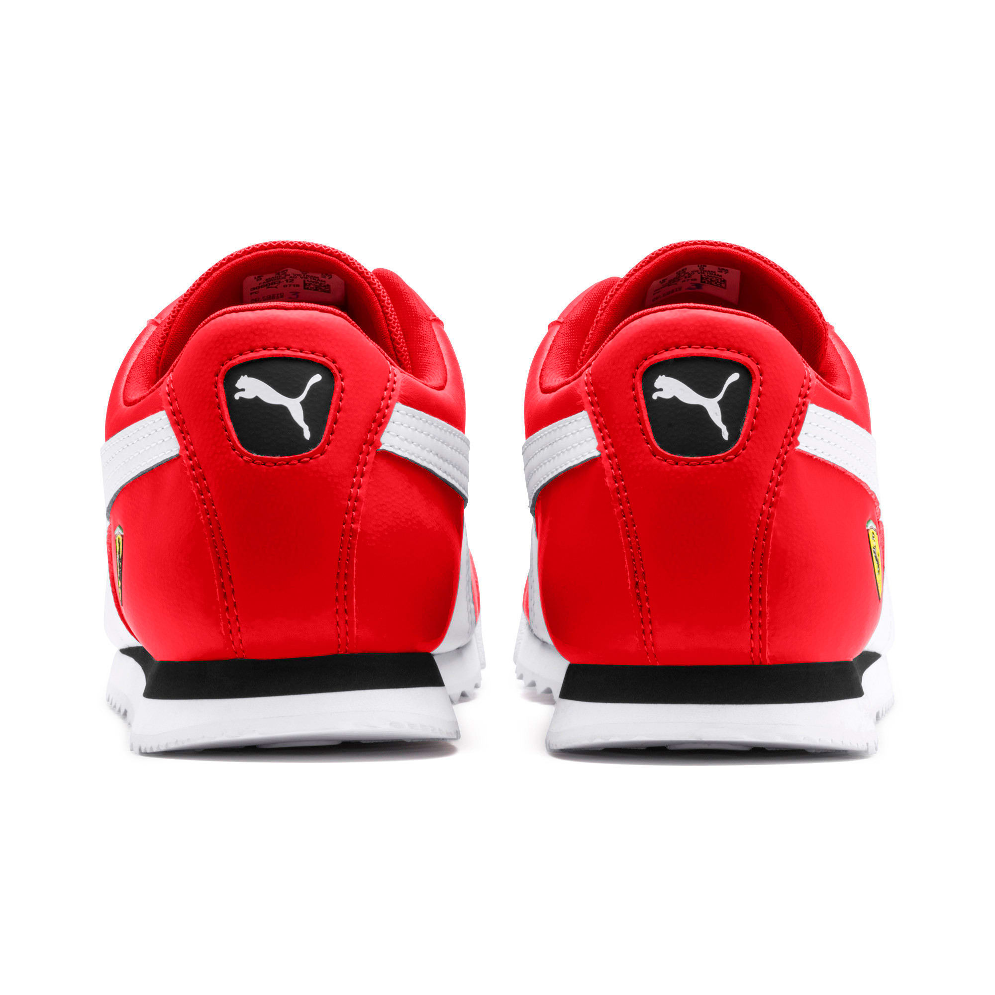Miniatura 4 de Zapatos deportivos Scuderia Ferrari Roma para hombre, Rosso Corsa-White-Black, mediano