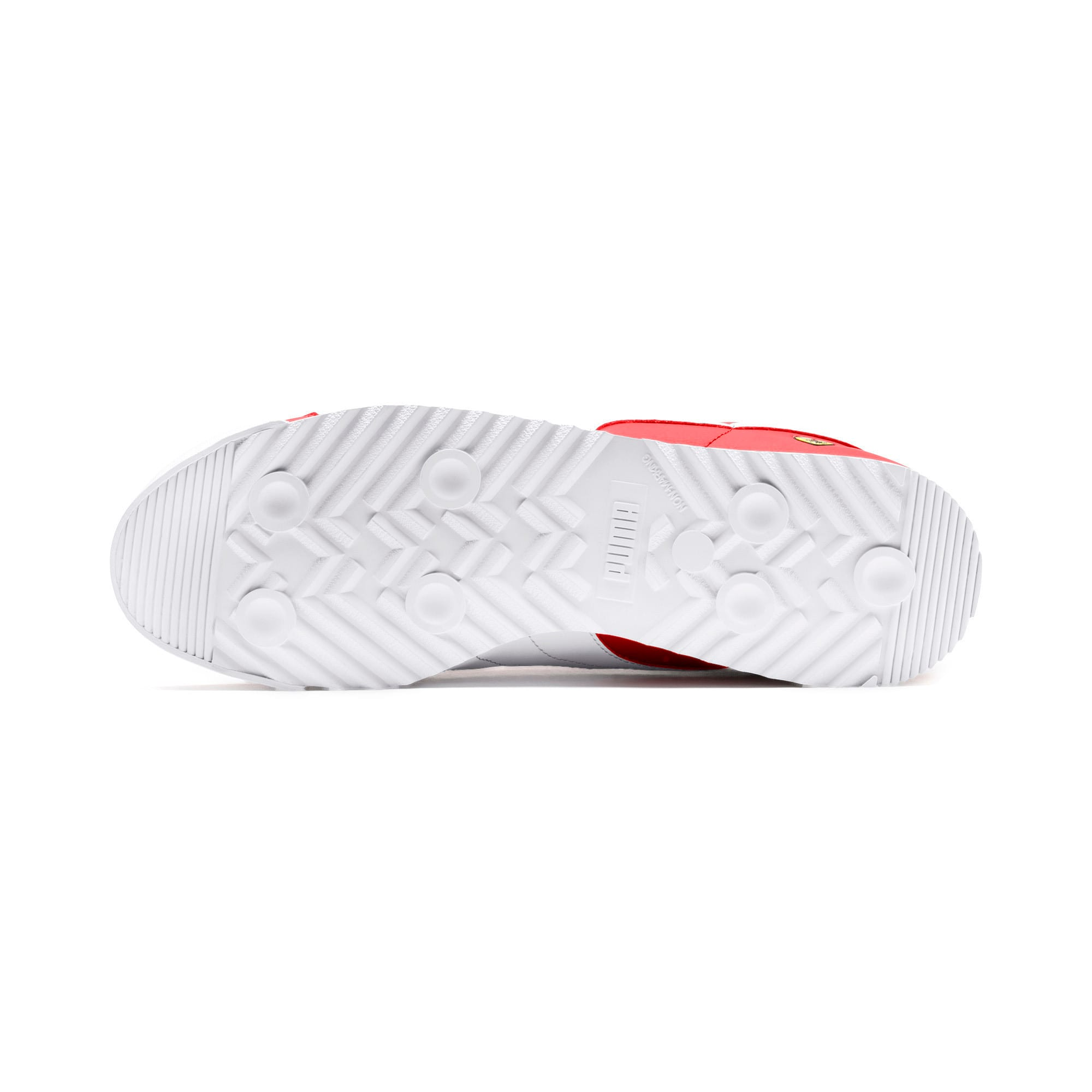 Miniatura 5 de Zapatos deportivos Scuderia Ferrari Roma para hombre, Rosso Corsa-White-Black, mediano