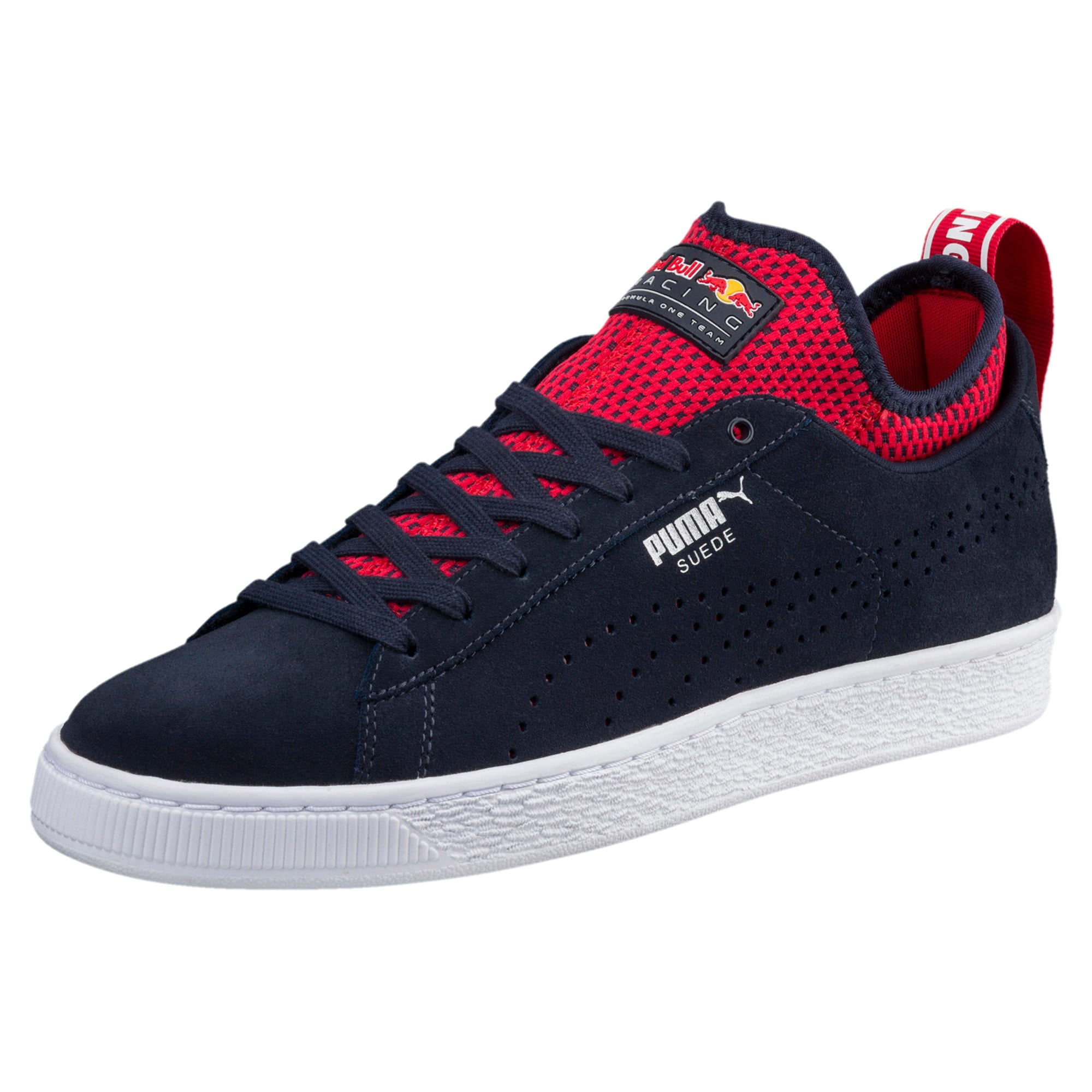 Thumbnail 1 of Red Bull Racing Suede Trainers, NIGHT SKY-Freesia-Chinese Rd, medium-IND