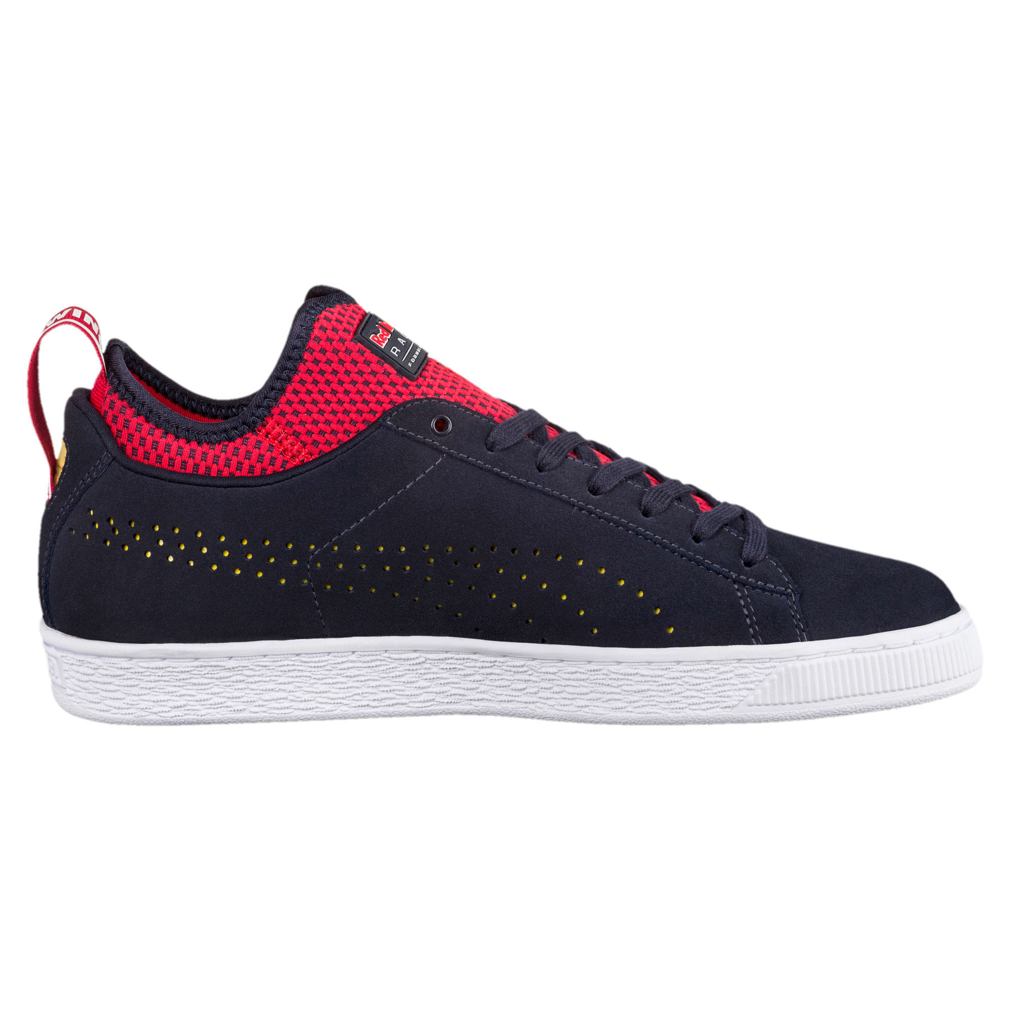Thumbnail 3 of Red Bull Racing Suede Trainers, NIGHT SKY-Freesia-Chinese Rd, medium-IND