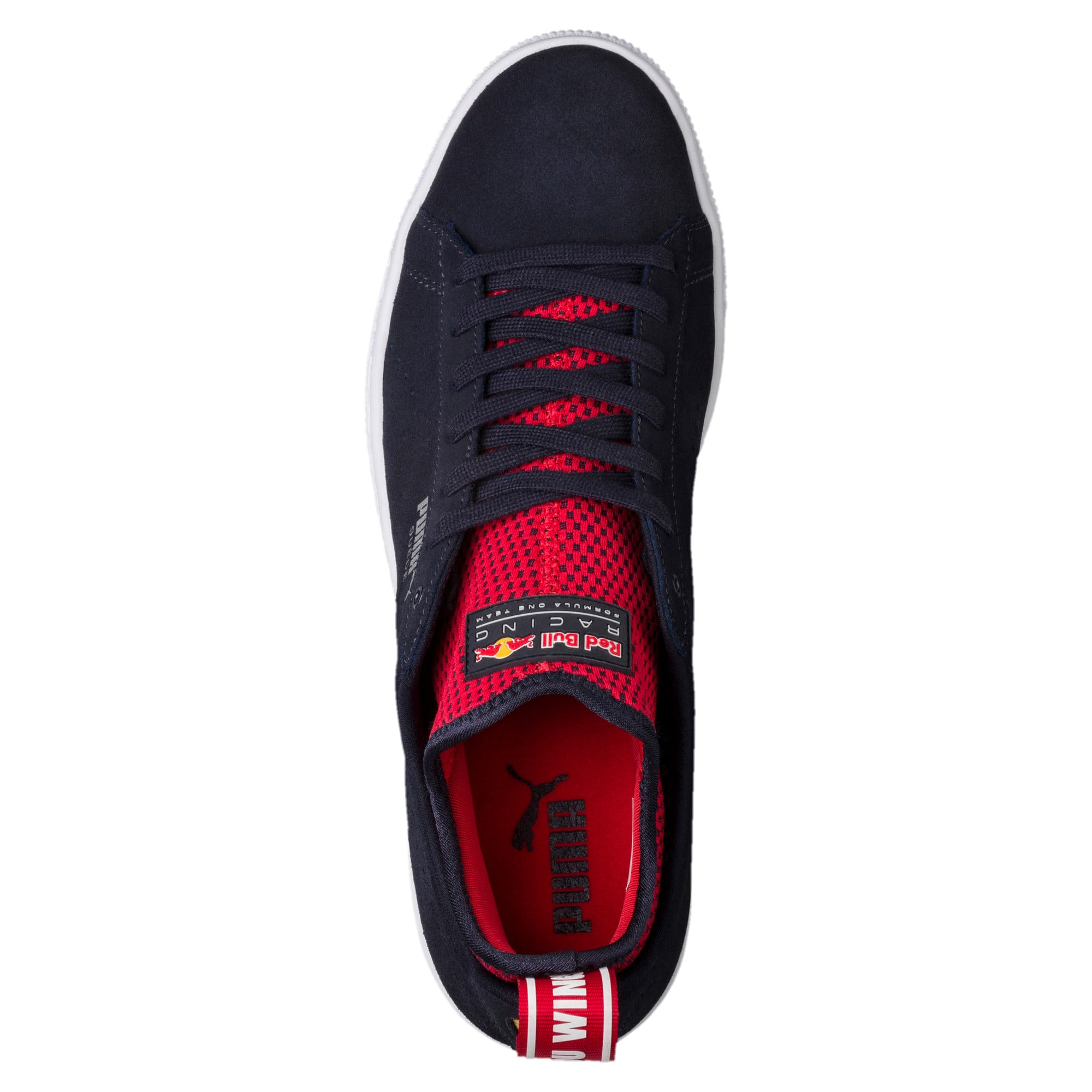 Thumbnail 5 of Red Bull Racing Suede Trainers, NIGHT SKY-Freesia-Chinese Rd, medium-IND