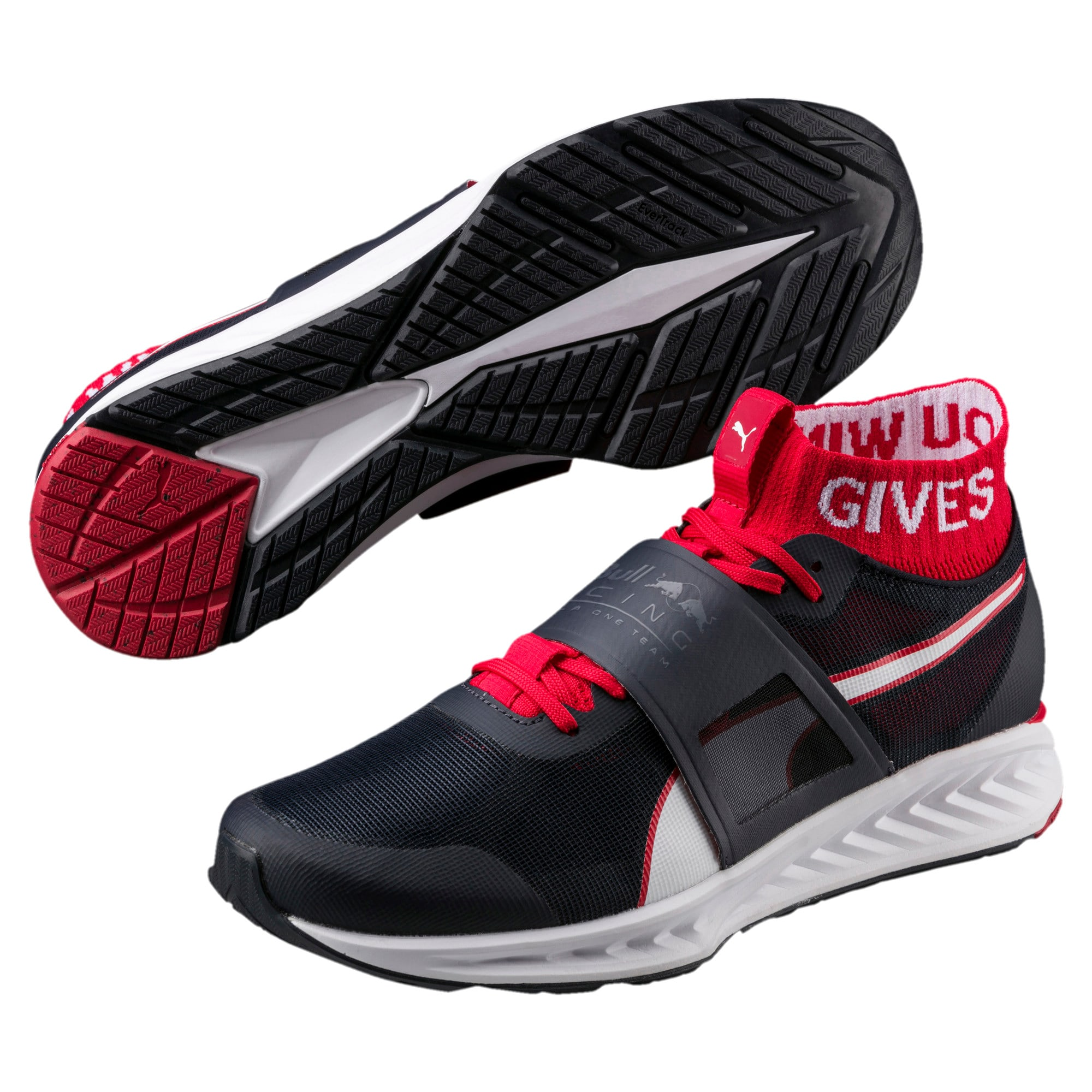Thumbnail 2 of Red Bull Racing Mechs Ignite V3 Men's Training Shoes, NIGHT SKY-White-Chinese Red, medium-IND