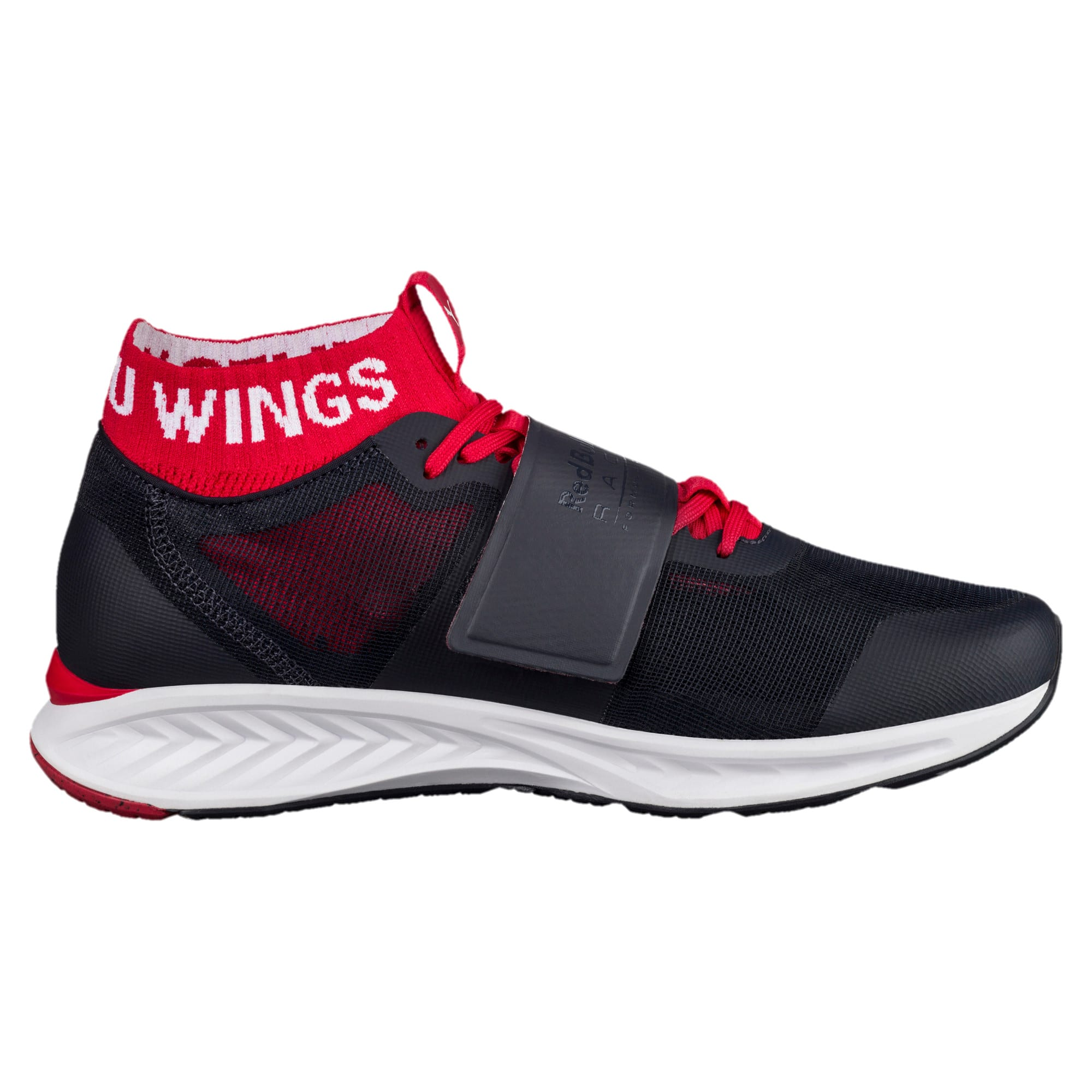 Thumbnail 3 of Red Bull Racing Mechs Ignite V3 Men's Training Shoes, NIGHT SKY-White-Chinese Red, medium-IND