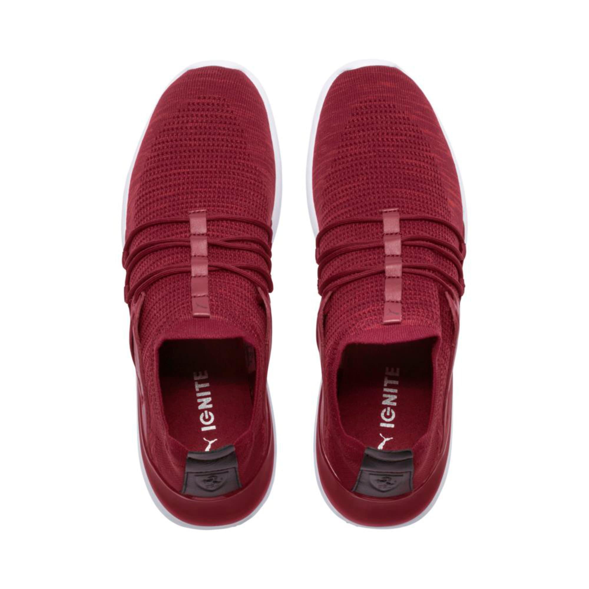 Thumbnail 3 of Ferrari Evo Cat Lace Lifestyle Shoes, Pomegranate-Bossa Nova-Wht, medium-IND